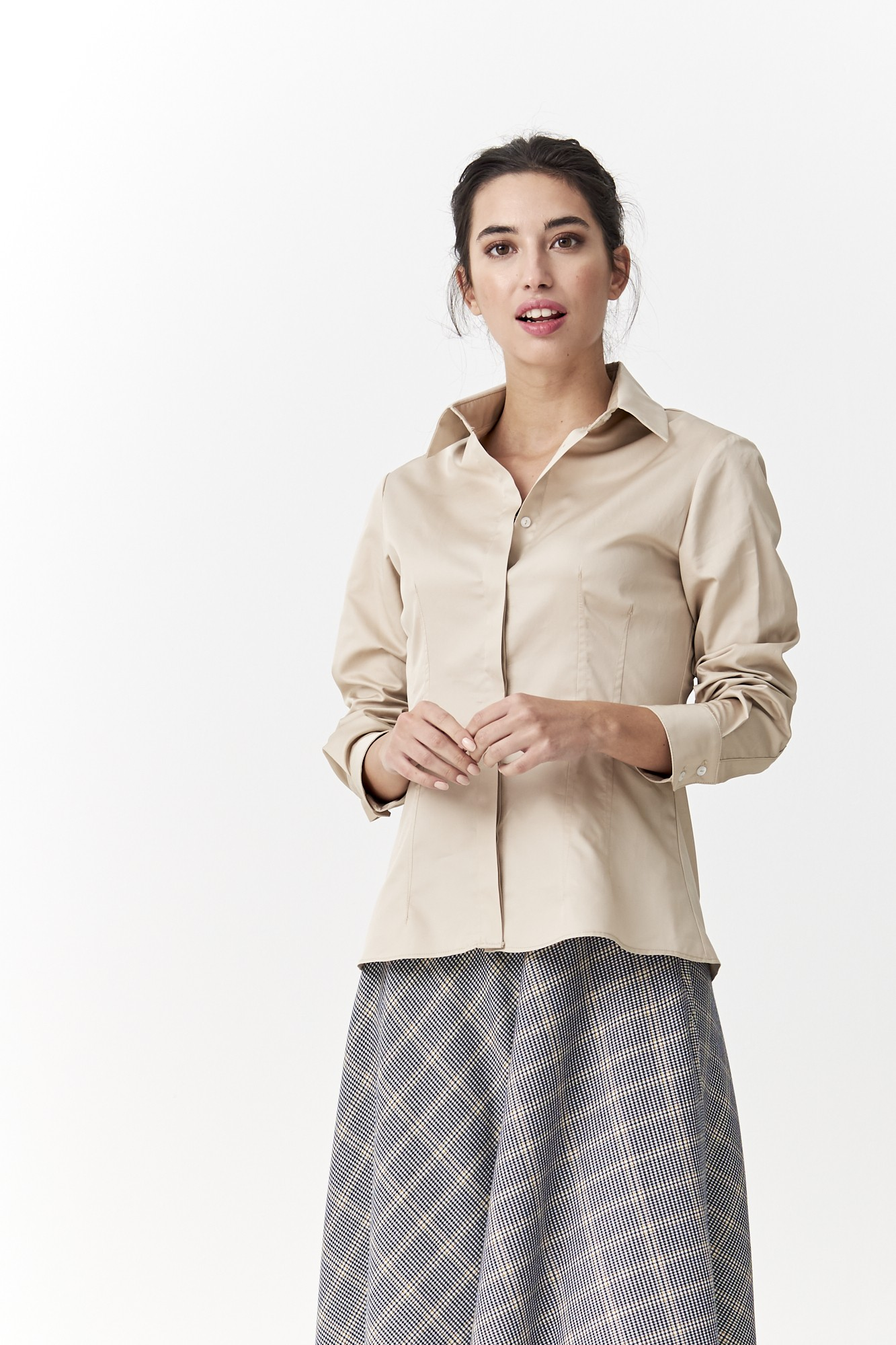 SISTER CAROLINA BEIGE SHIRT