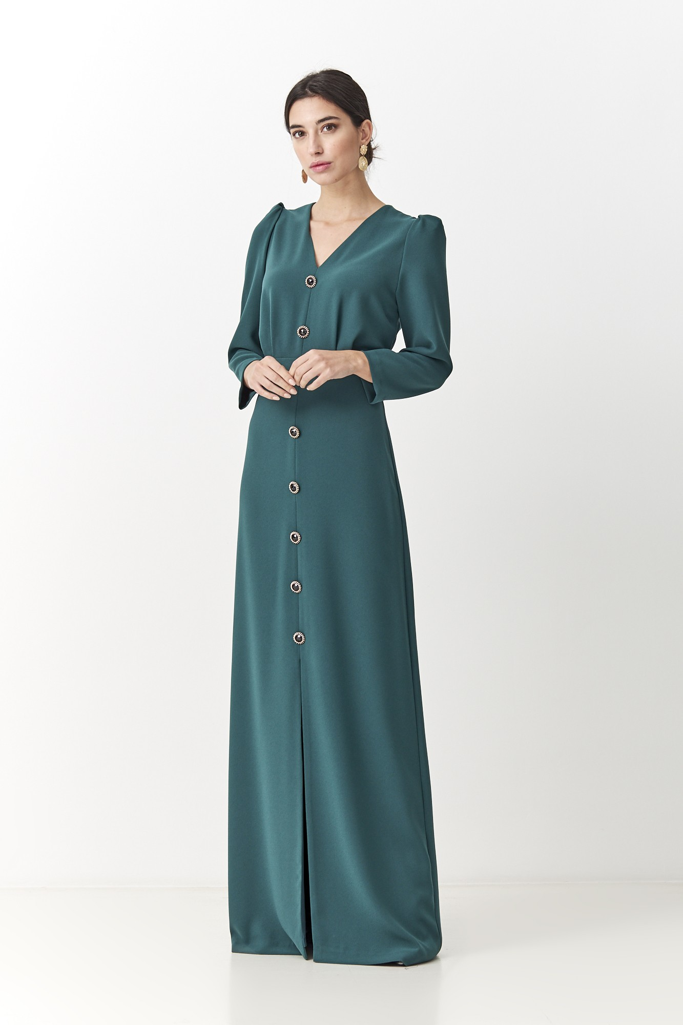 GREEN FW JUANA DRESS