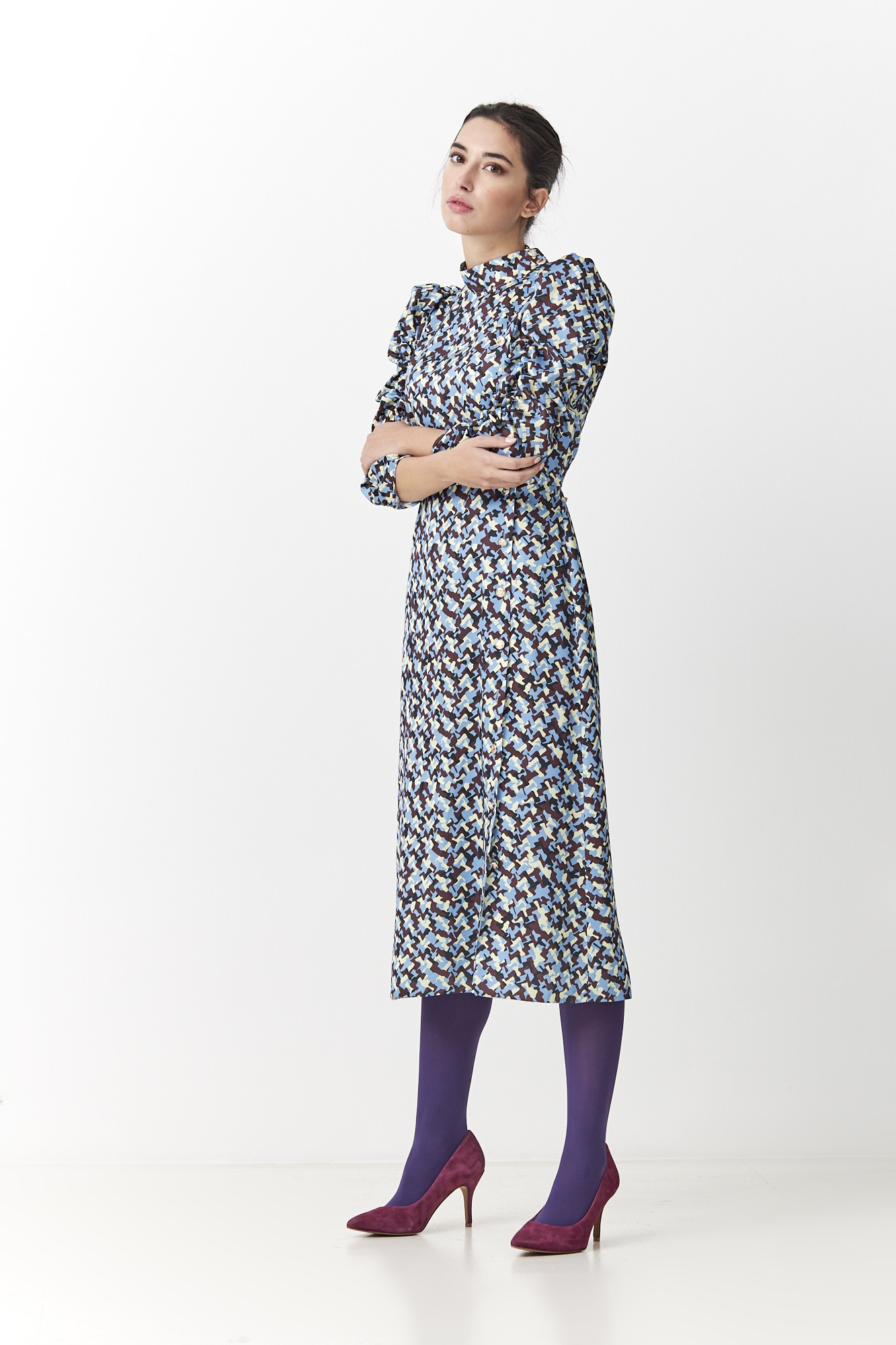 ROGER BLUE DRESS