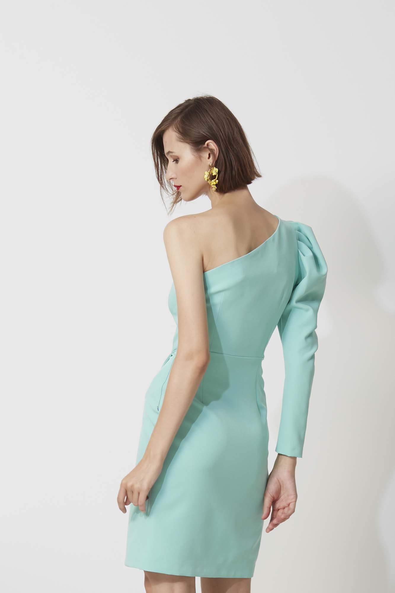 SAMUELLE GREEN DRESS