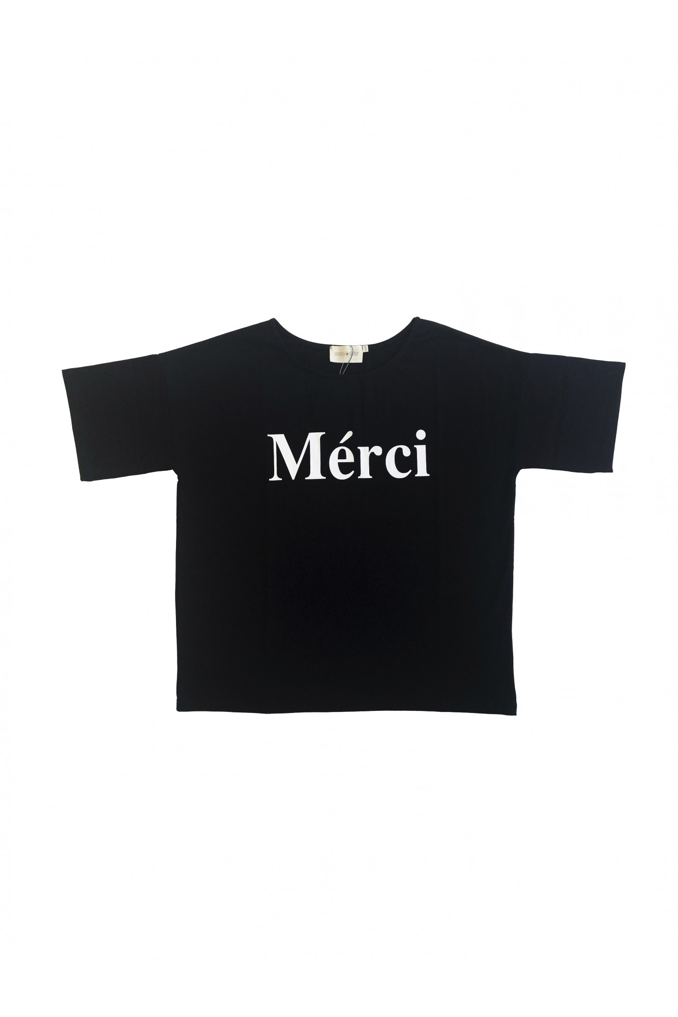 SISTER MERCI BLACK TSHIRT