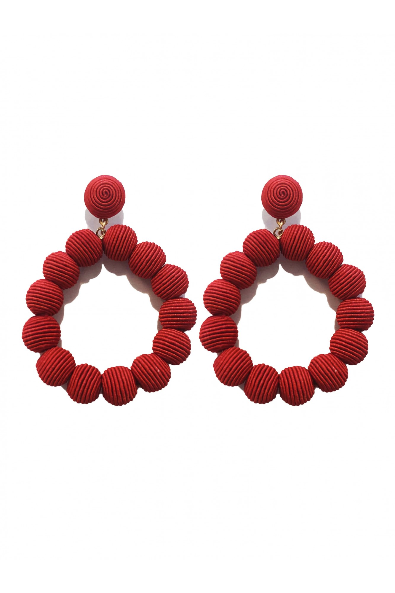 HELEA RED EARRINGS