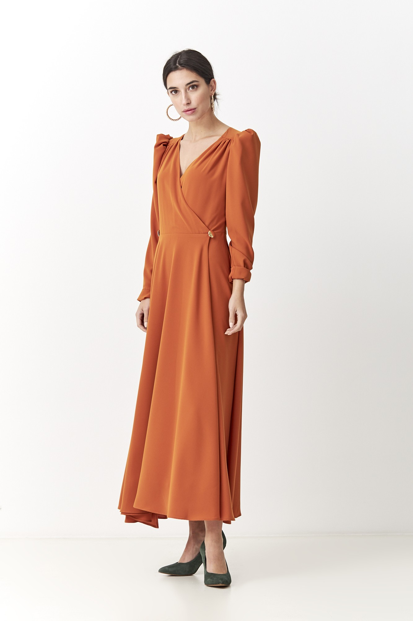 FEDERICA ORANGE DRESS