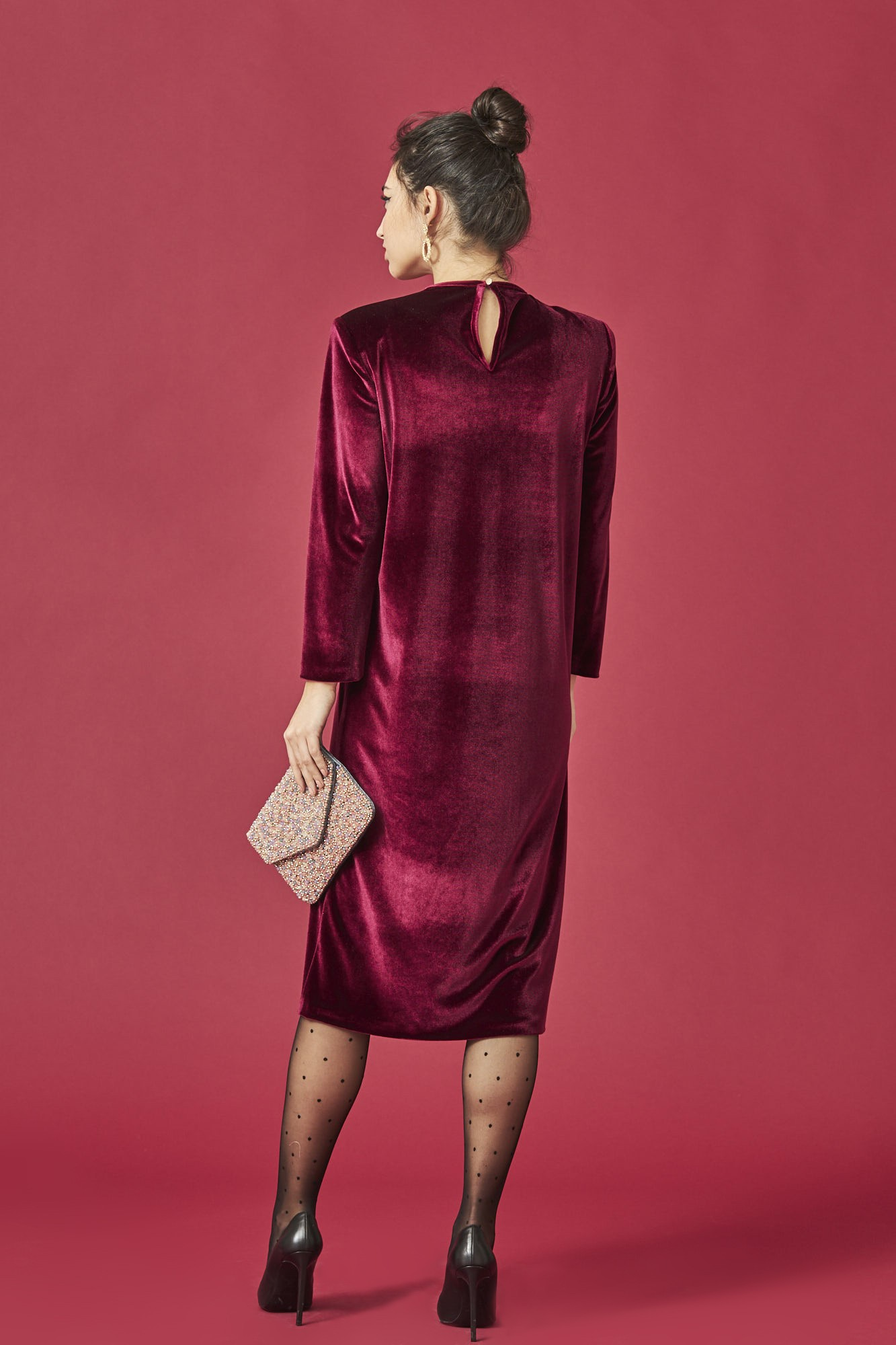 VESTIDO VELVET