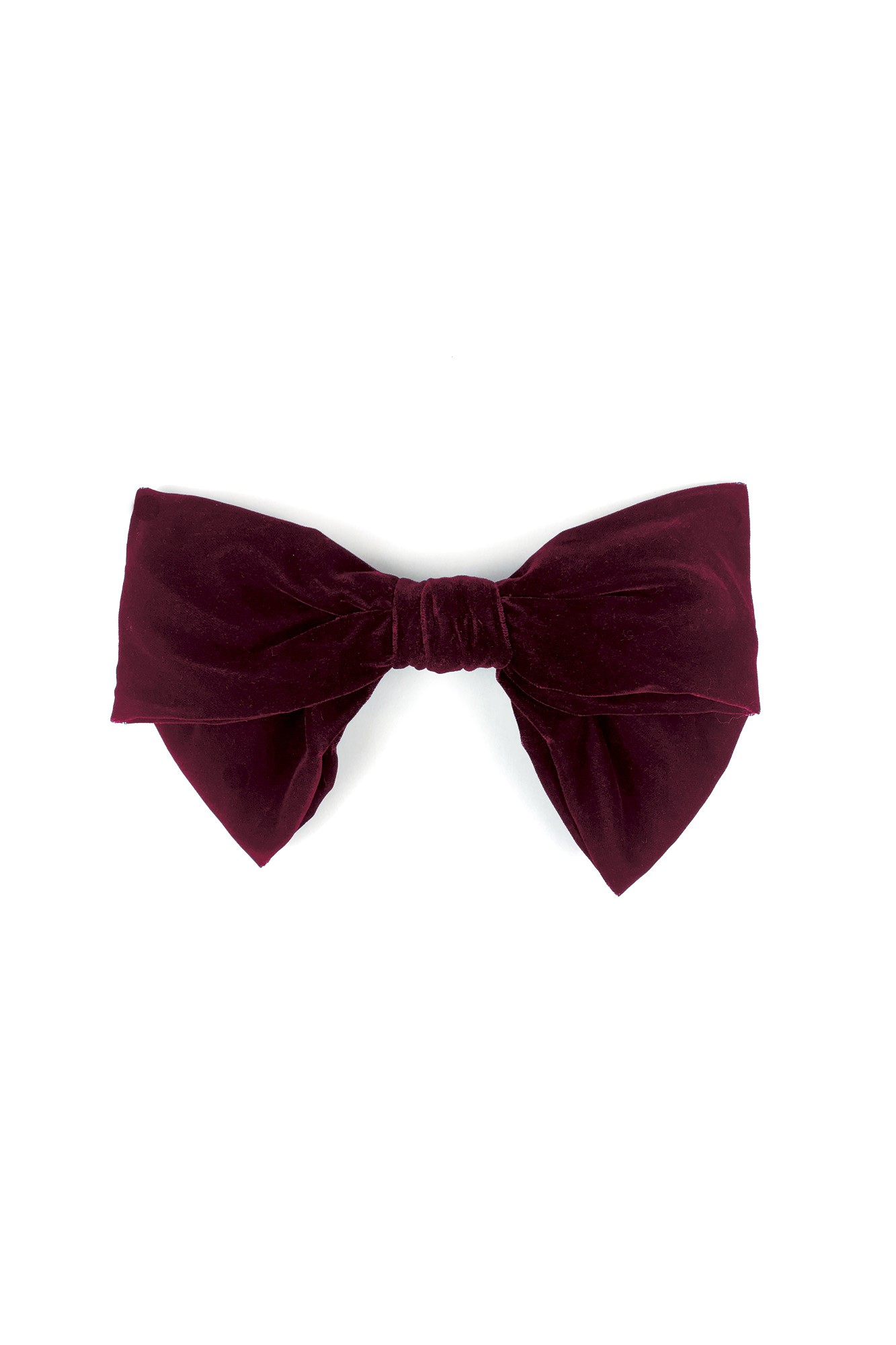 AIKO BURGUNDY BOW