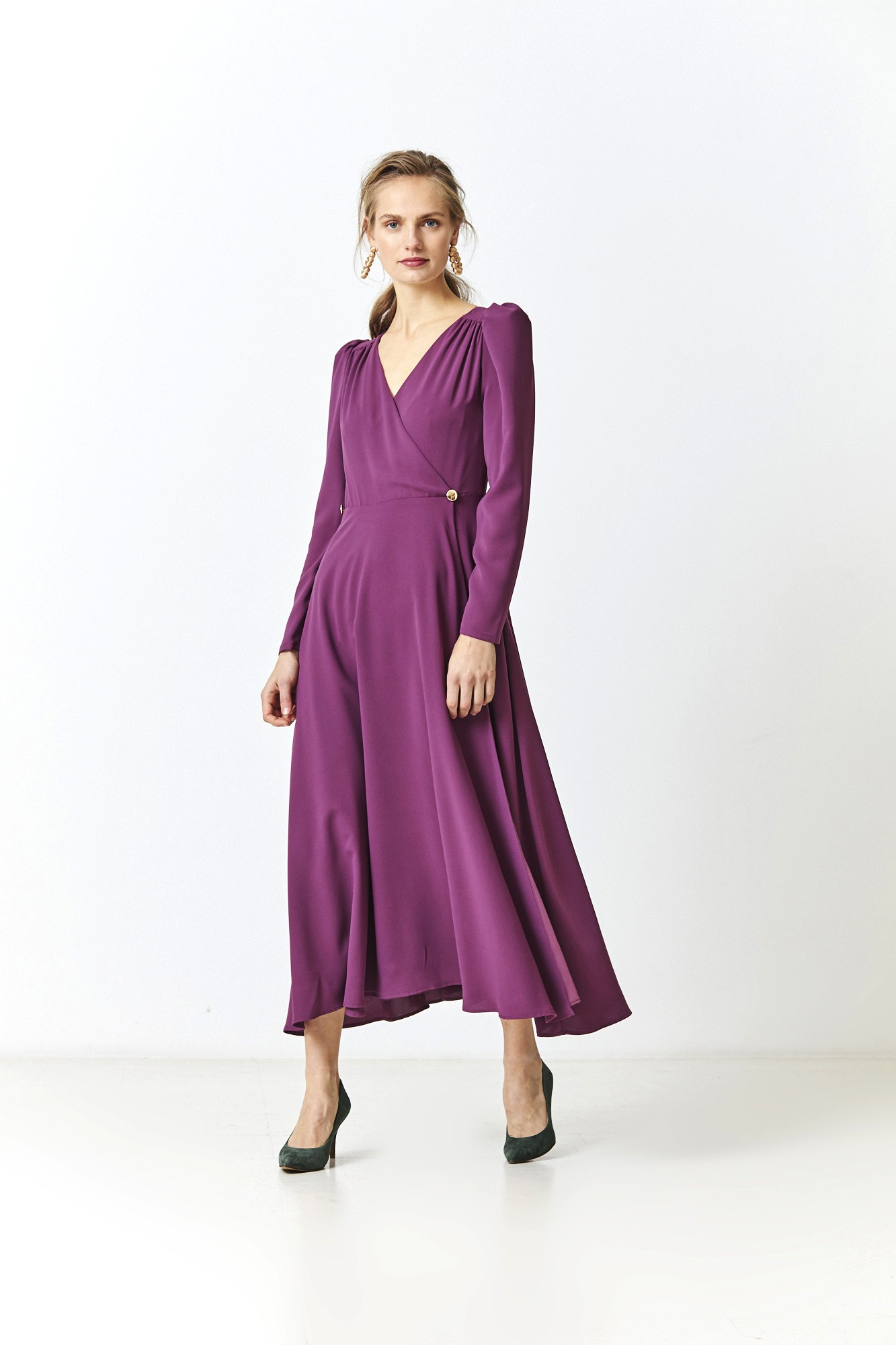 FEDERICA PURPLE DRESS