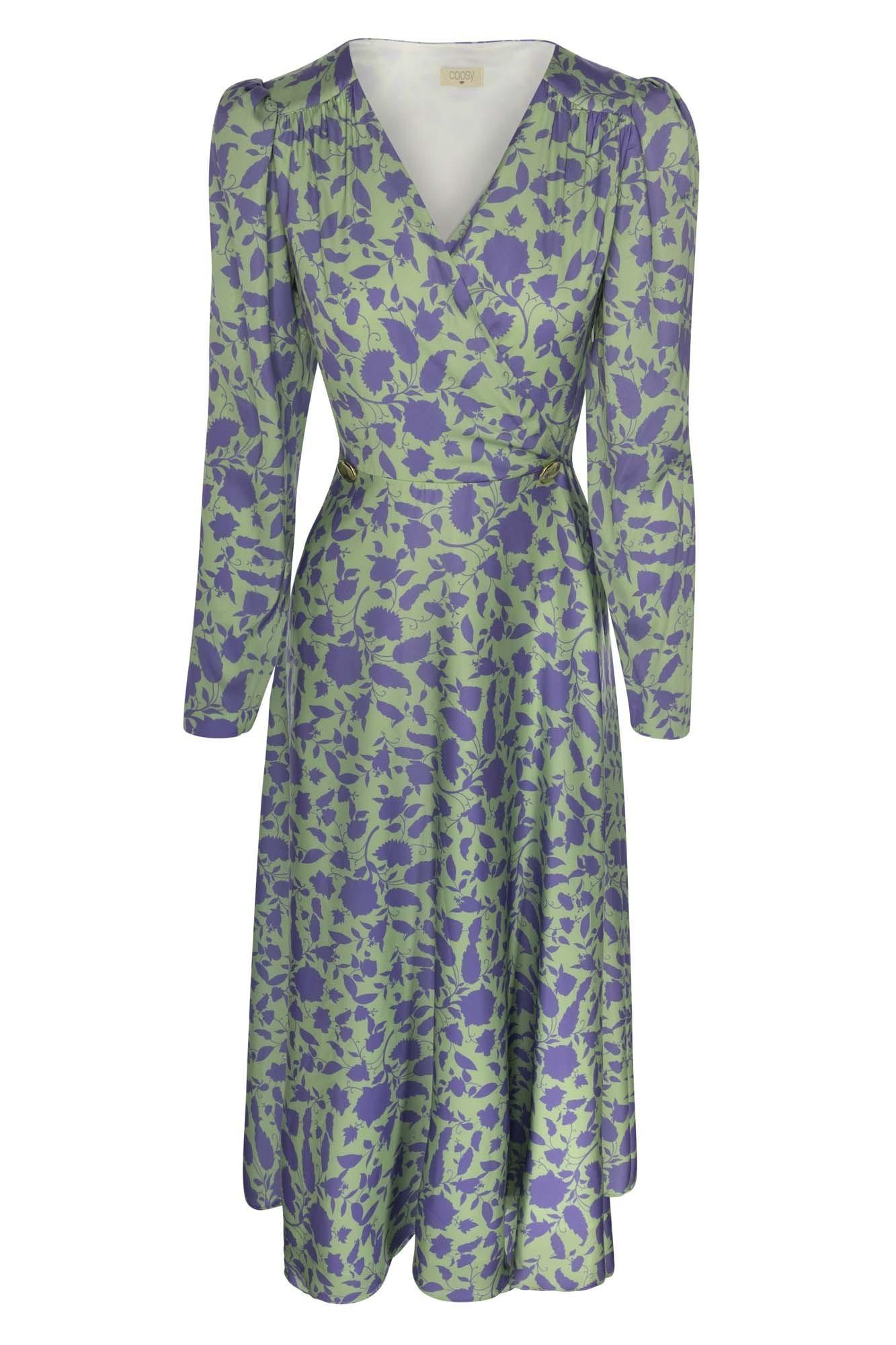 FEDERICA GREEN DRESS