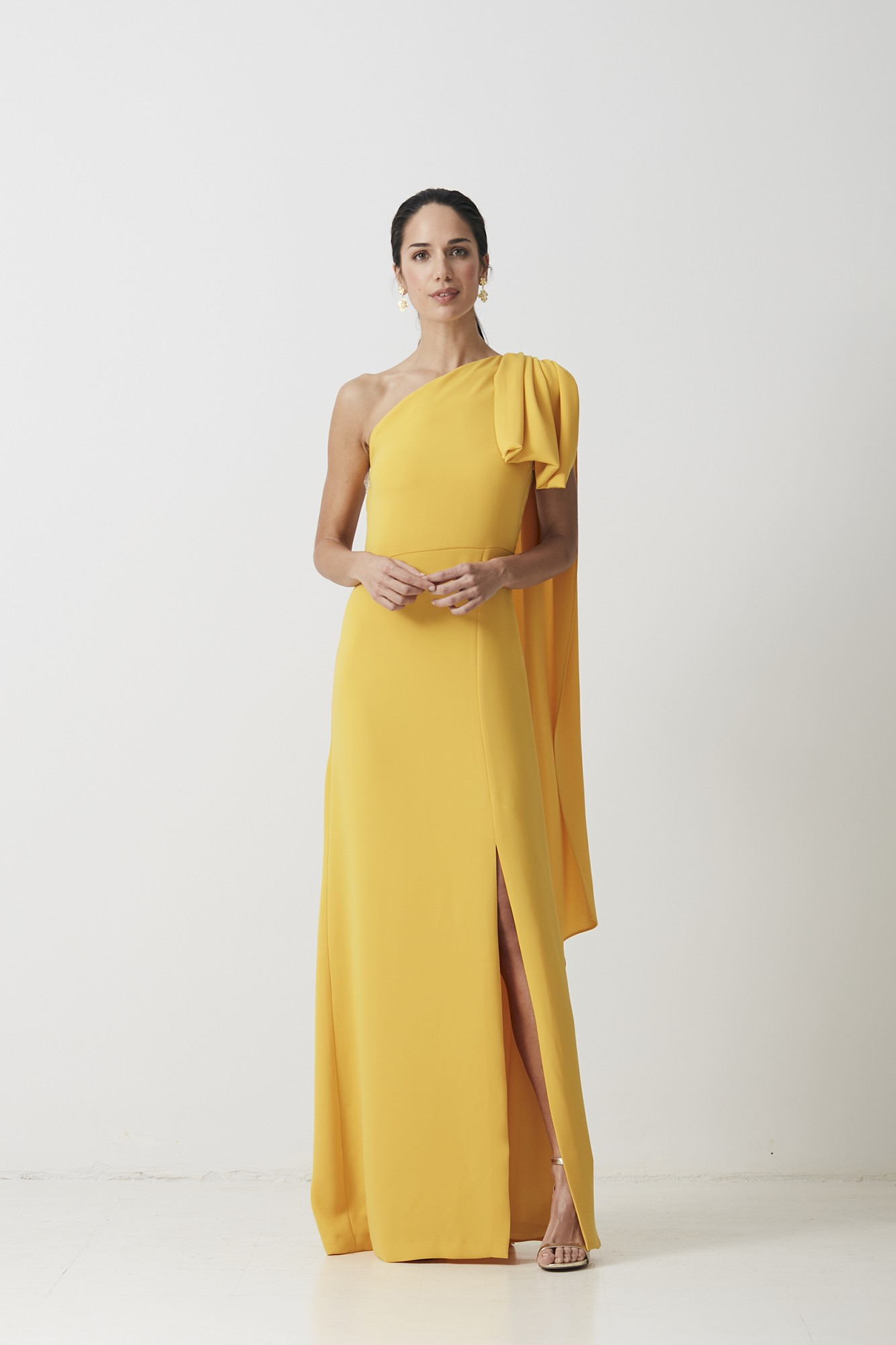 MARIO YELLOW DRESS