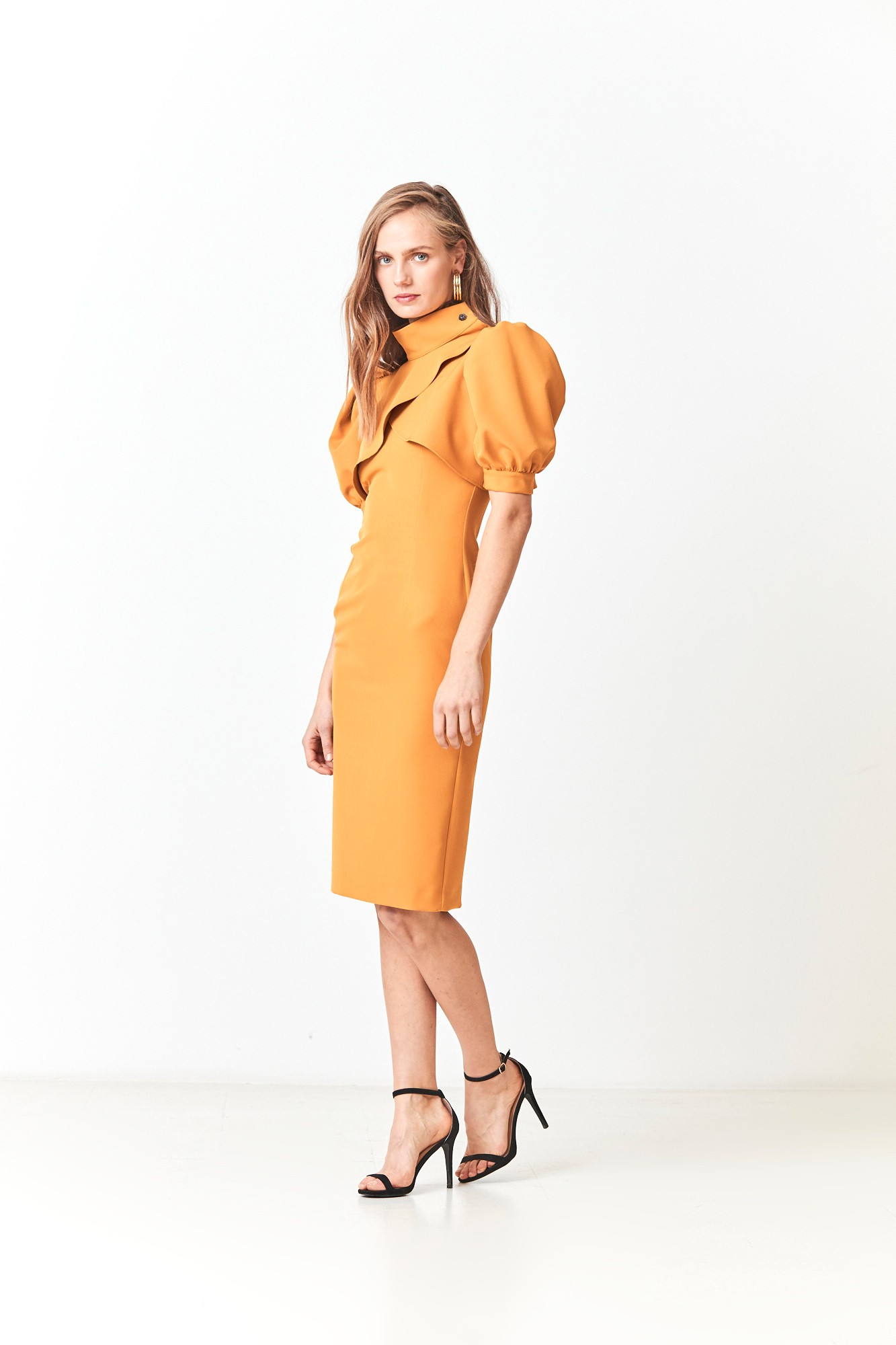 ASIER YELLOW DRESS