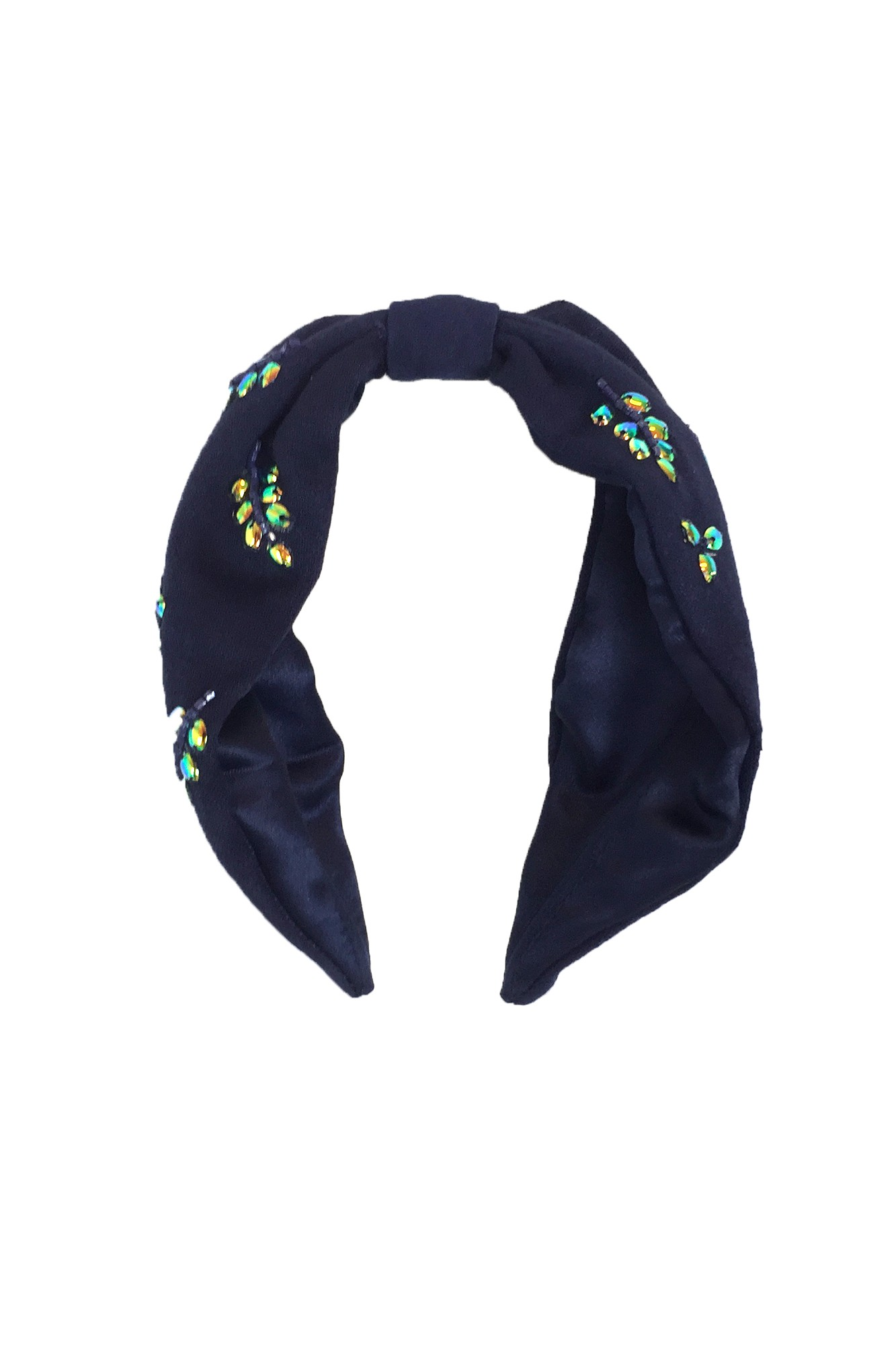 CARON BLUE HEADBAND