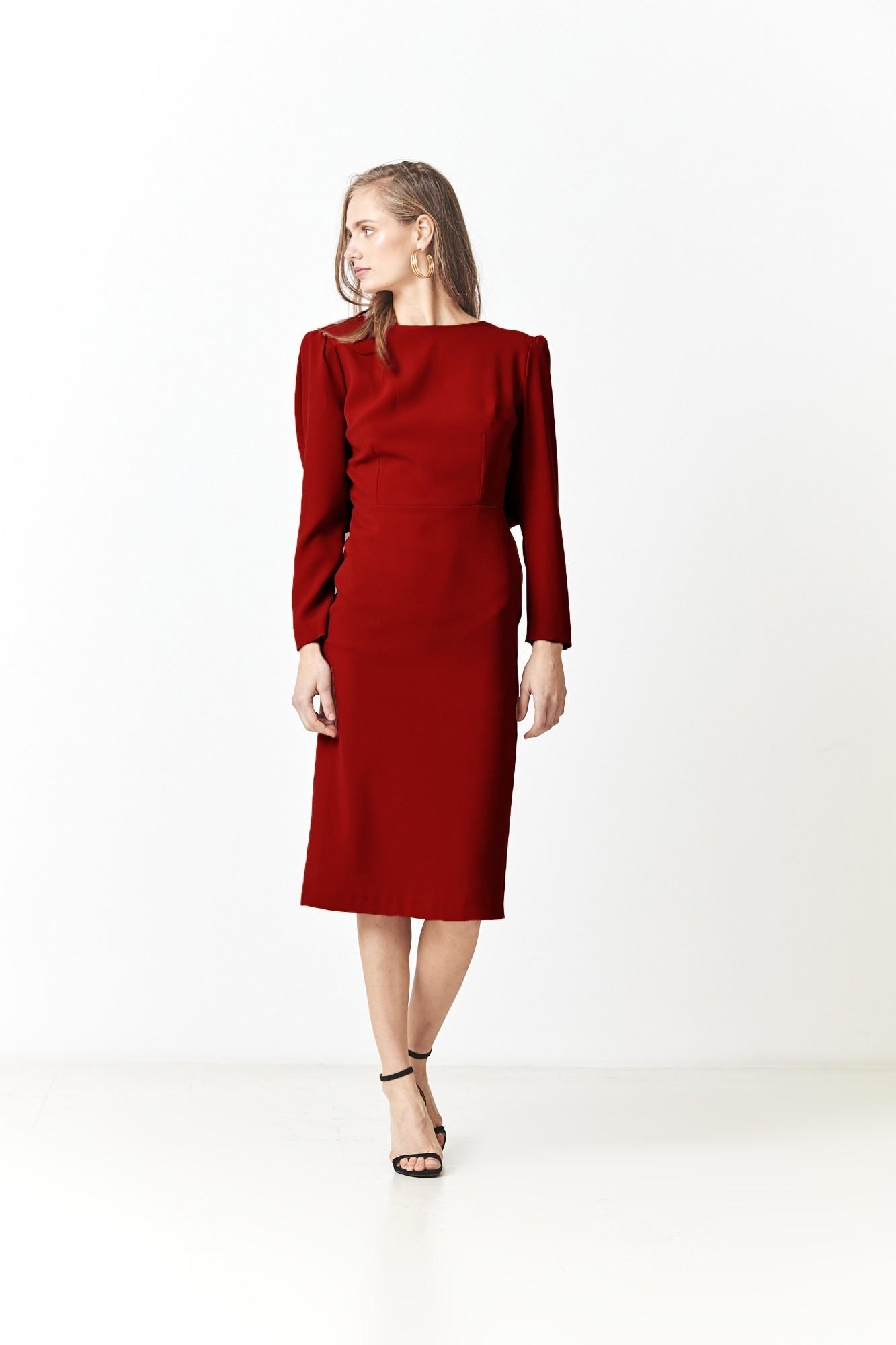 NEBOA RED DRESS