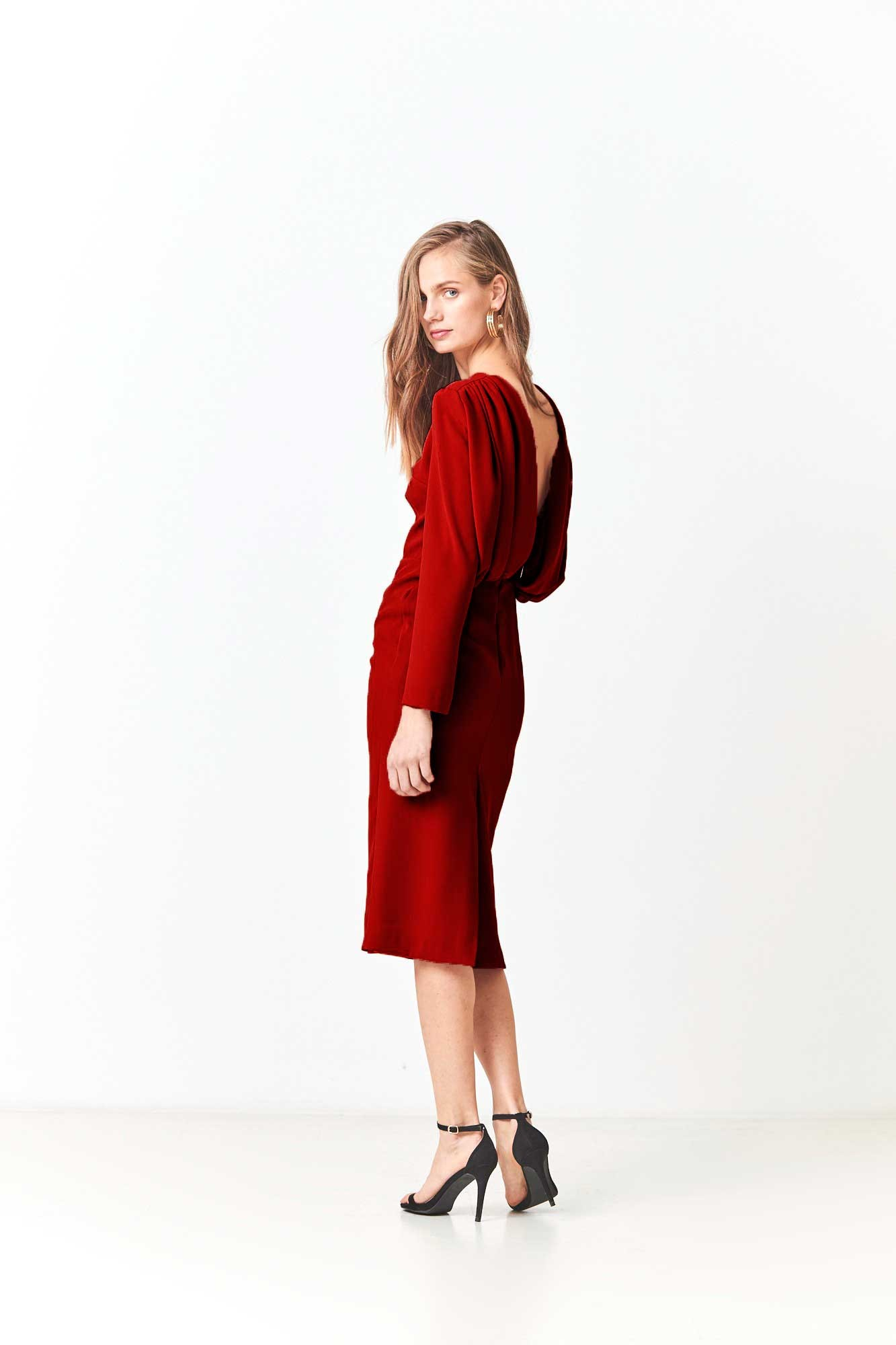 NEBOA RED DRESS