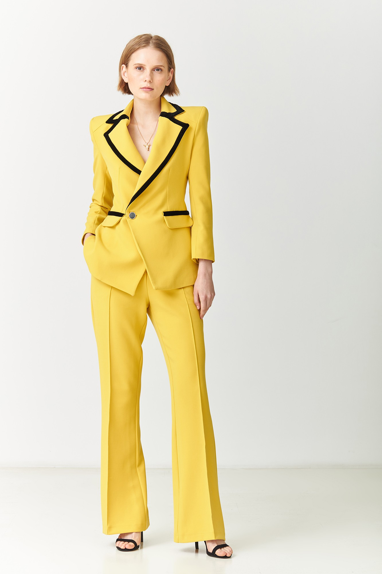 MORGANA YELLOW BLAZER