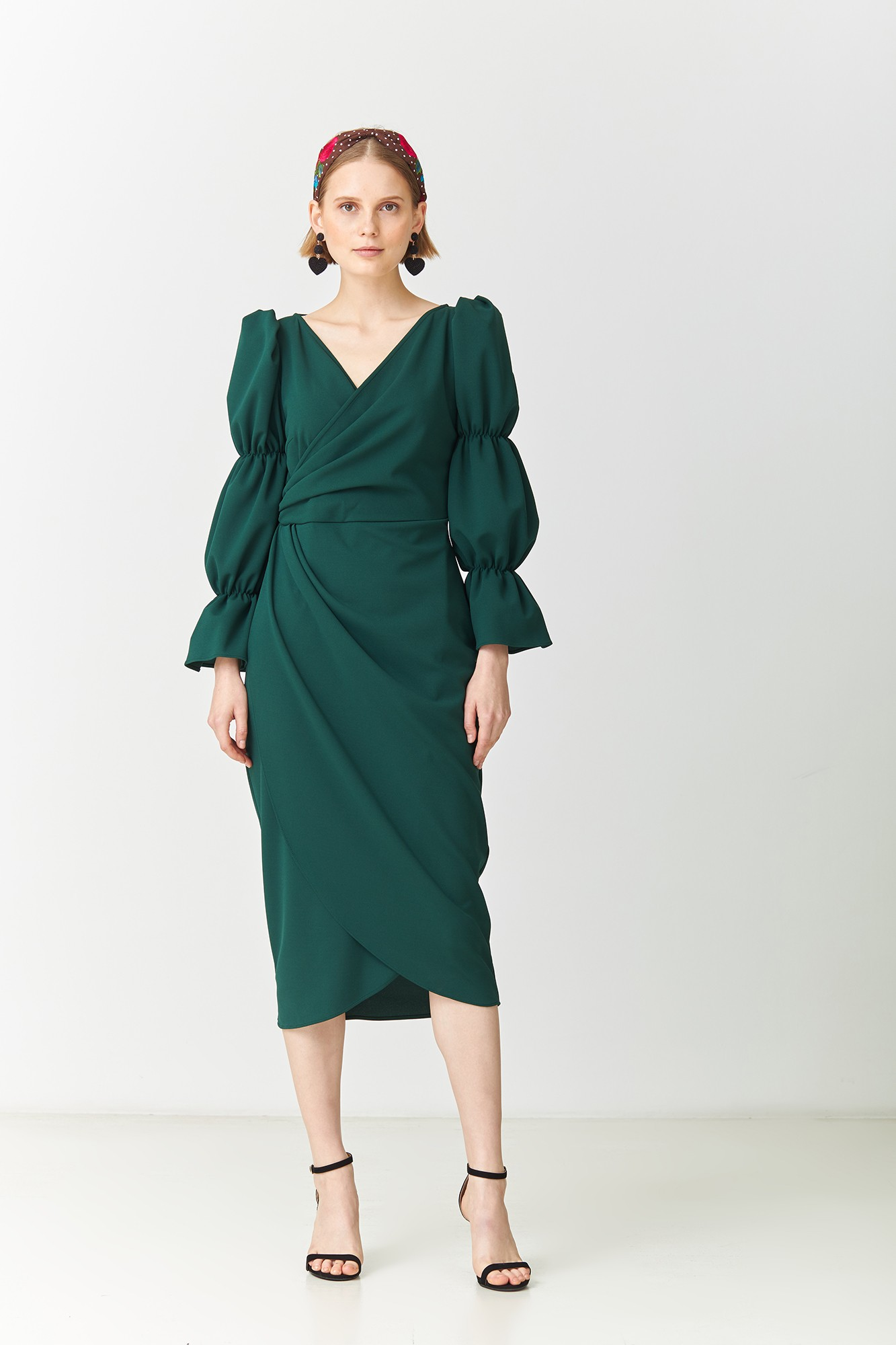MUNNA GREEN DRESS