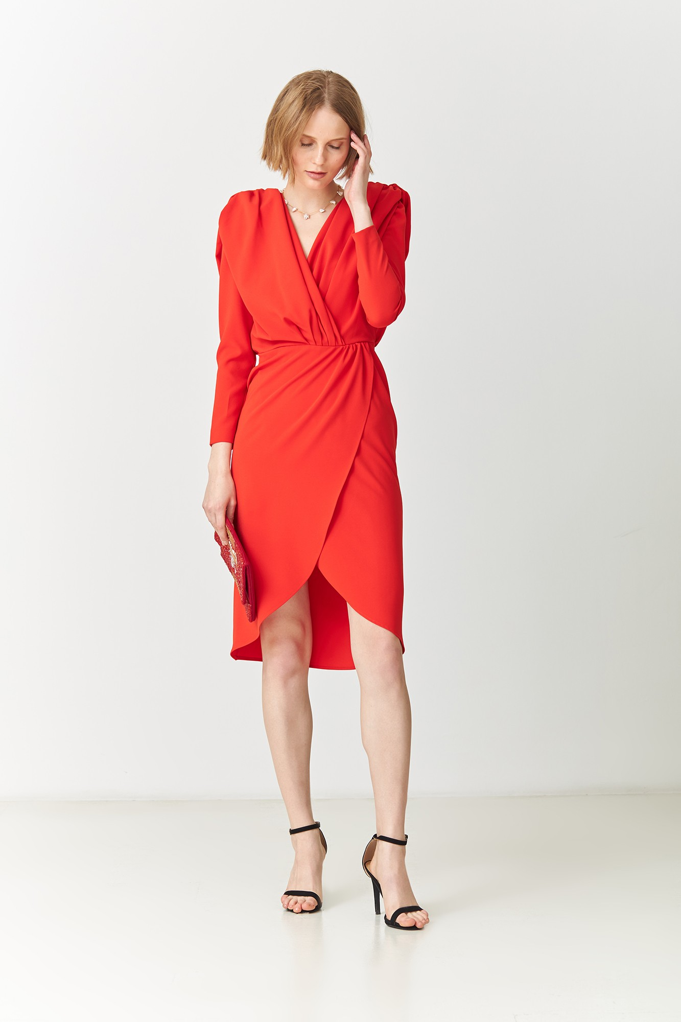 ANITA RED DRESS