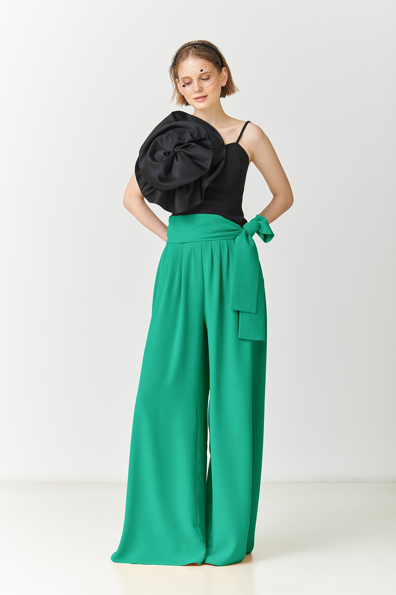 LUZZY GREEN TROUSERS