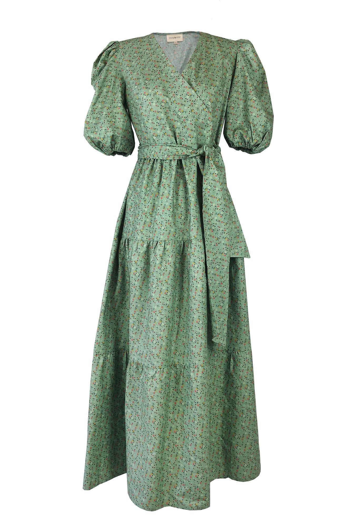 SISTER FADI GREEN DRESS