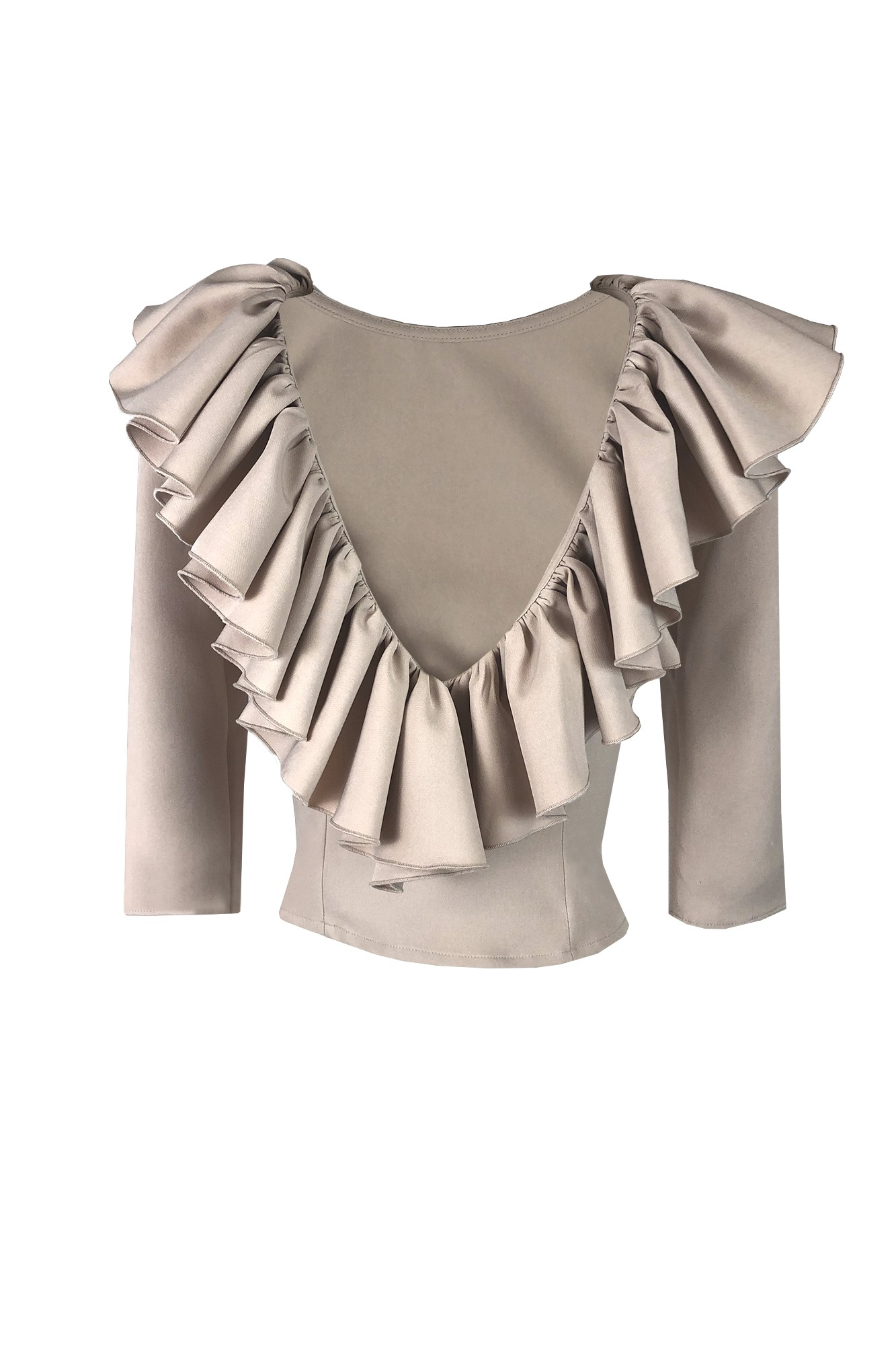 PAULINA BEIGE TOP