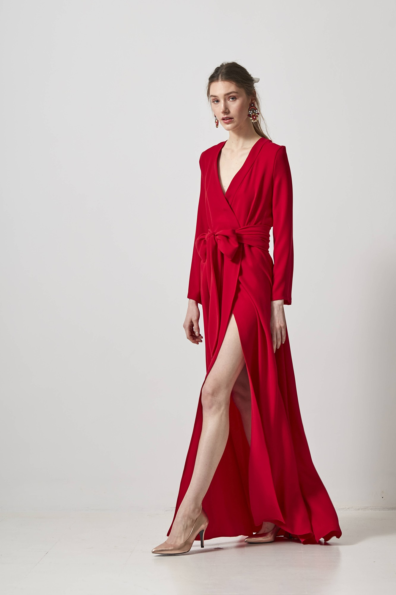 ALEJANDRA RED DRESS