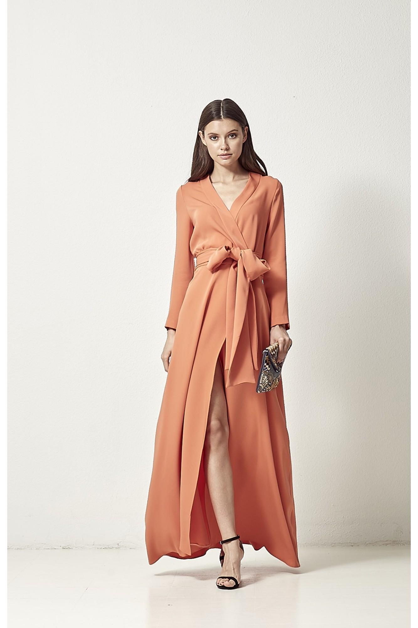 ALEJANDRA ORANGE DRESS
