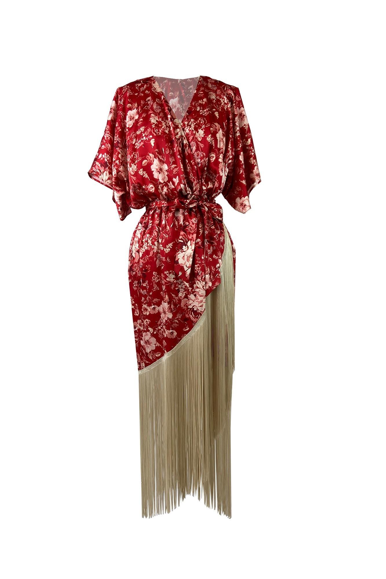 ONDINA RED DRESS