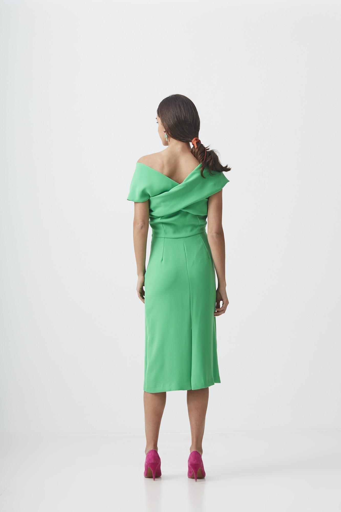 CURIE GREEN DRESS