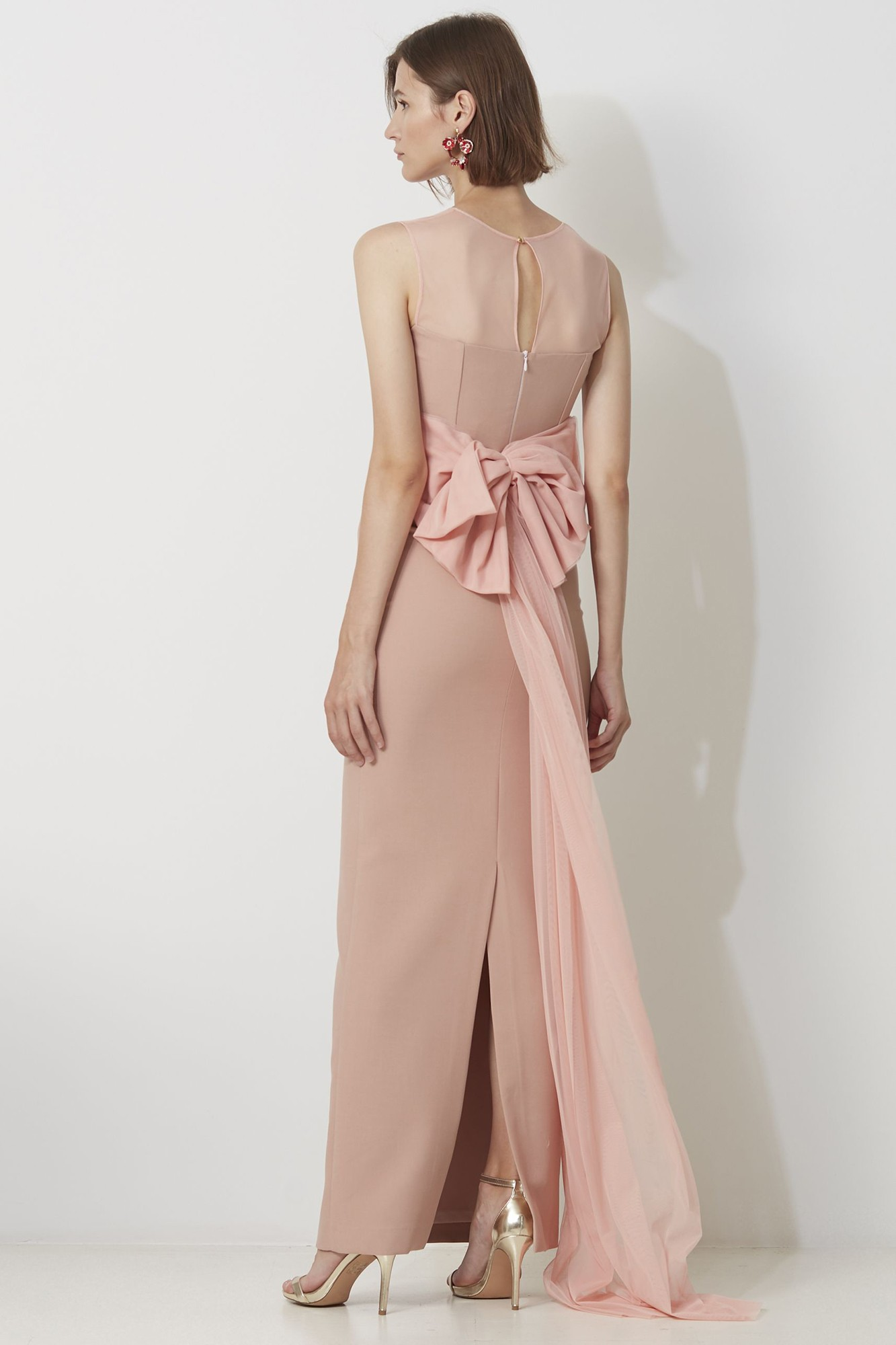BRICE PINK DRESS