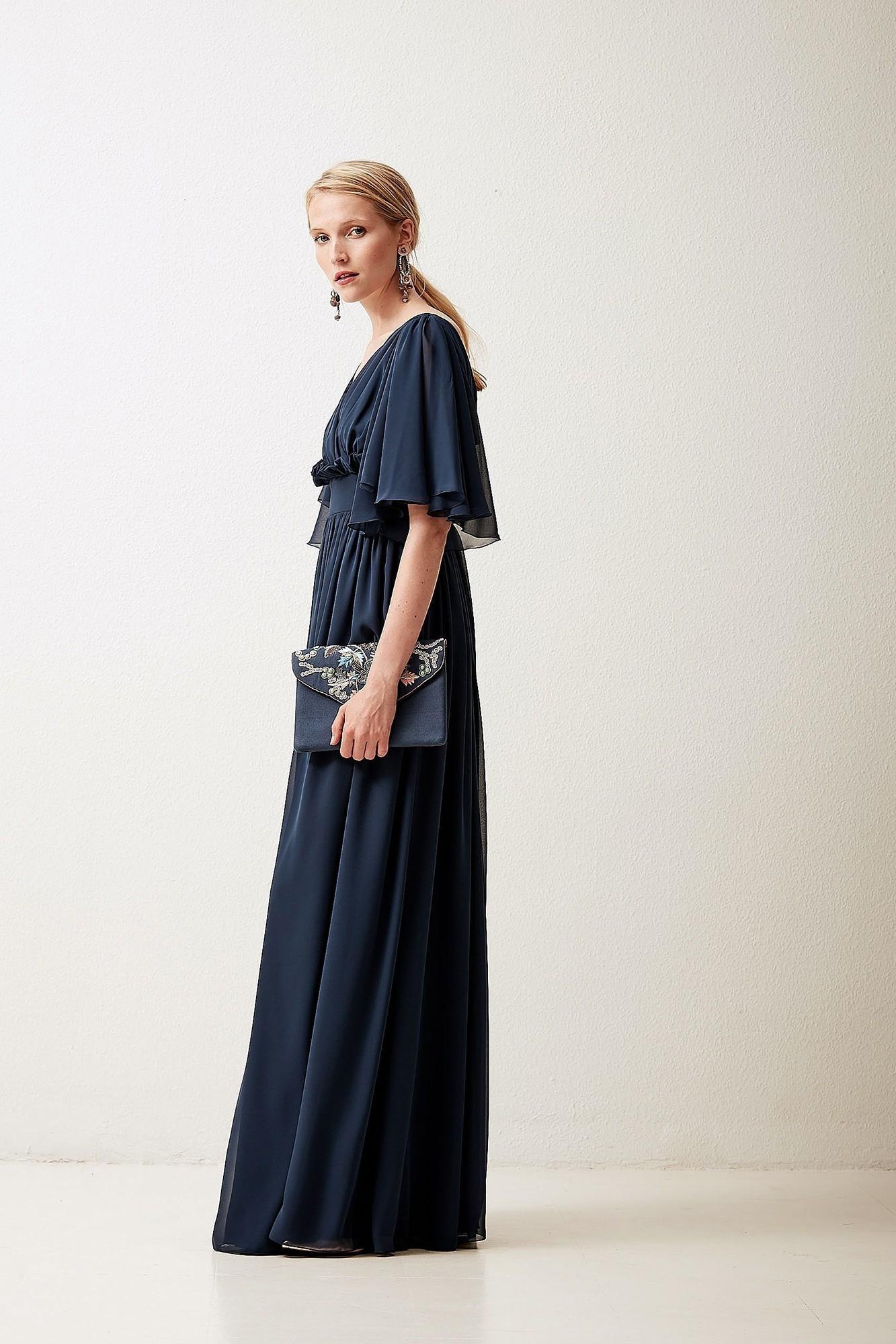 ADELINA BLUE DRESS