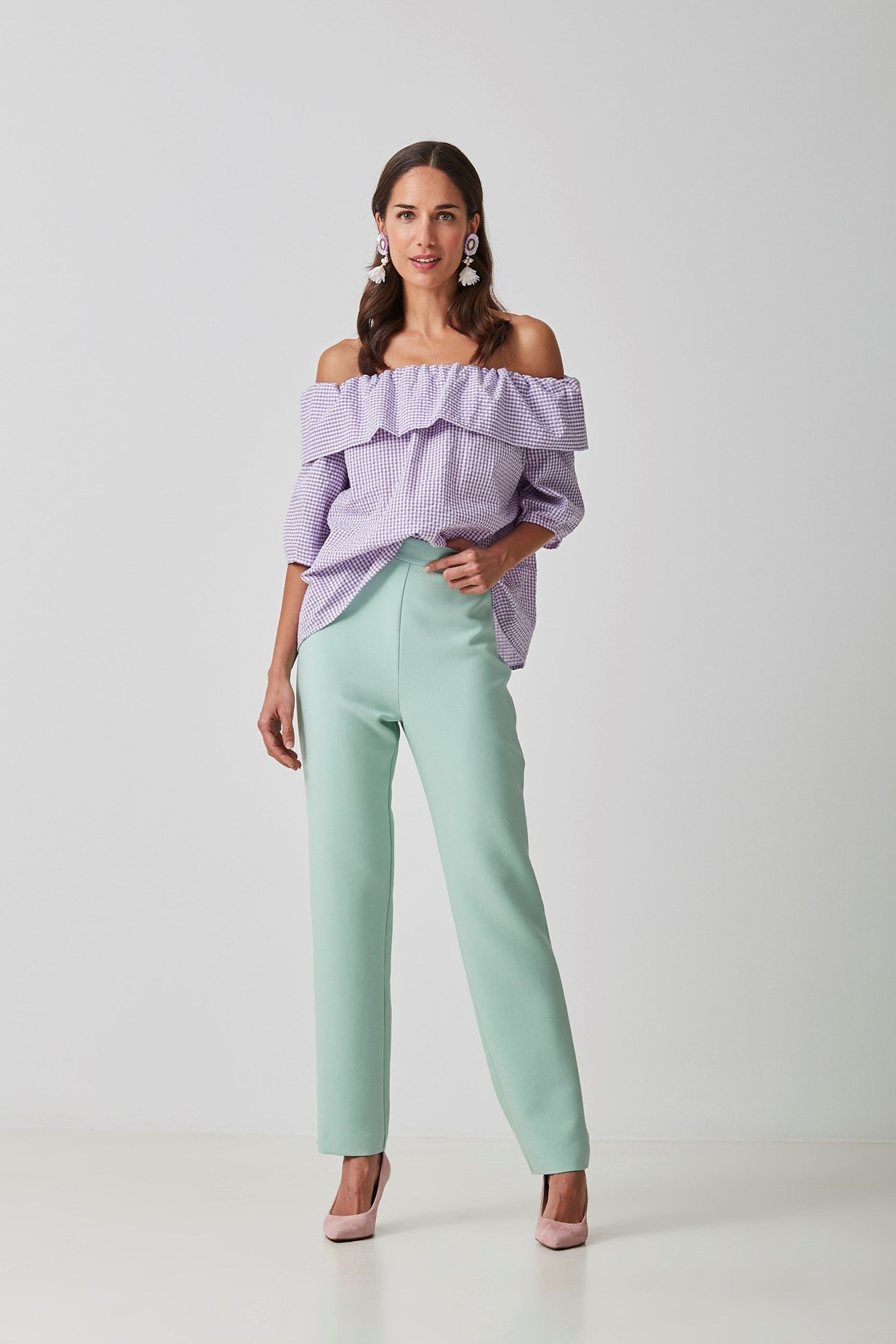 PANTALON ROBERT VERDE