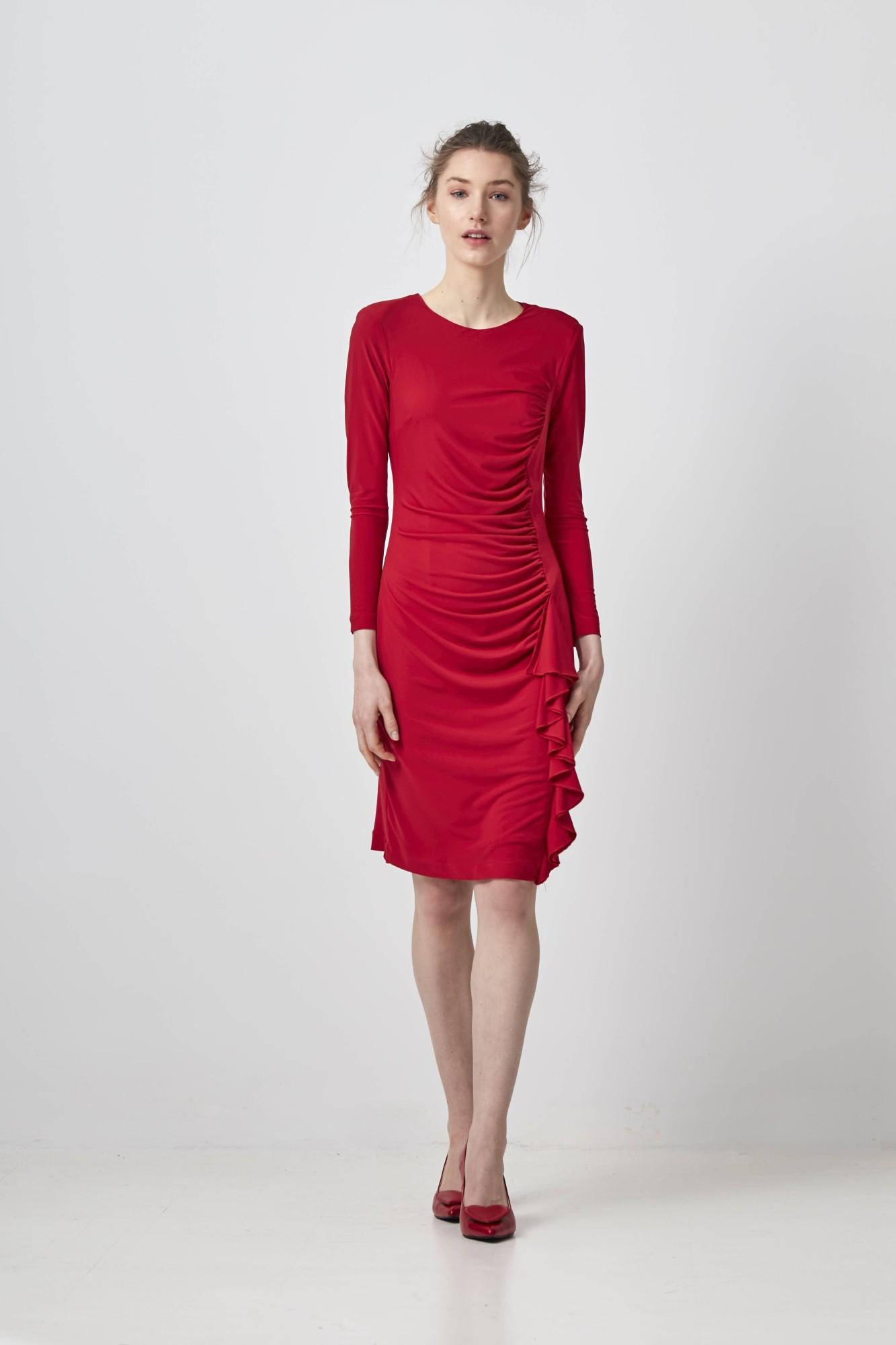 DARIA RED DRESS