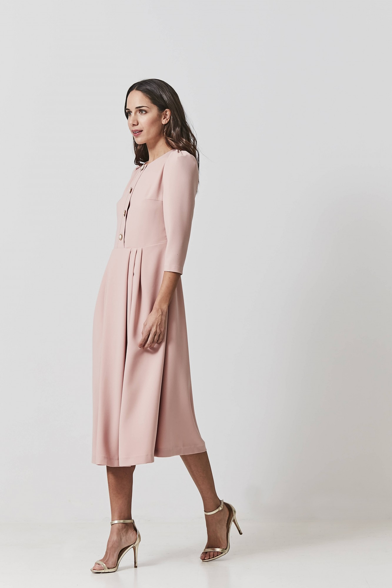 MARGARET PINK DRESS