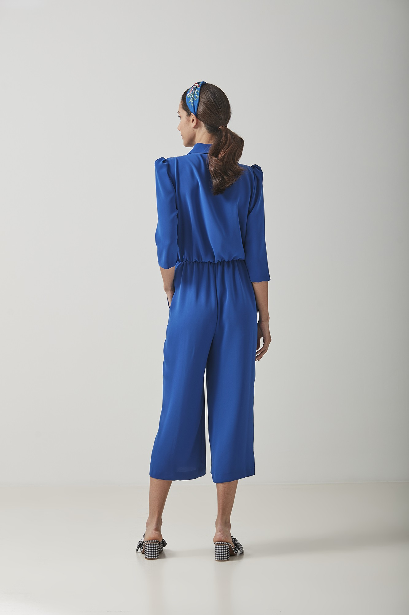 OLIMPIA BLUE JUMPSUIT