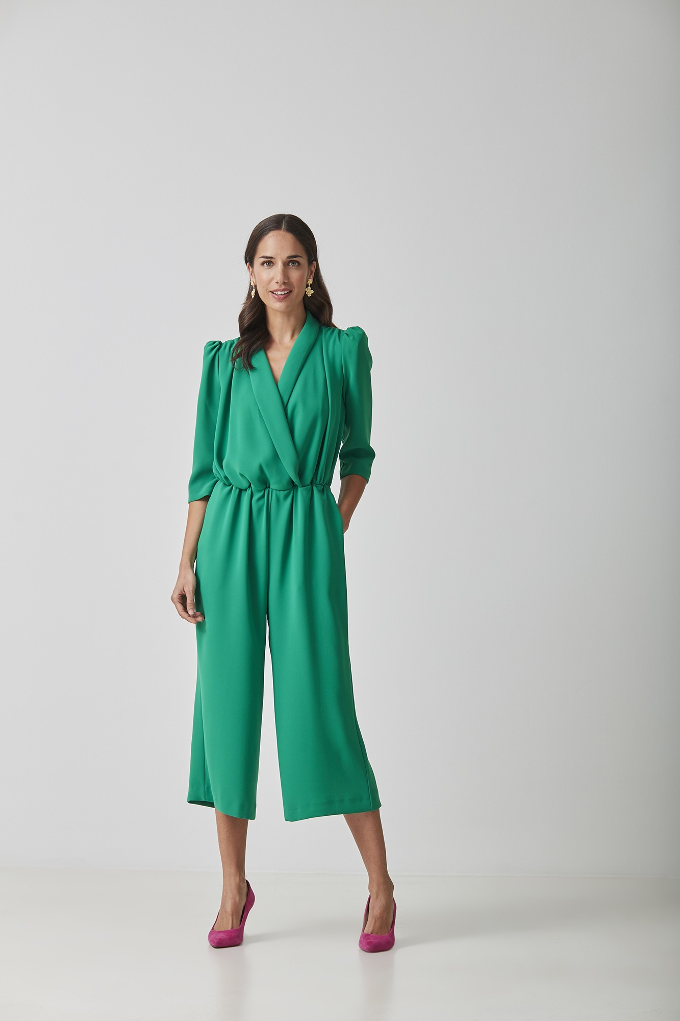 OLIMPIA GREEN JUMPSUIT