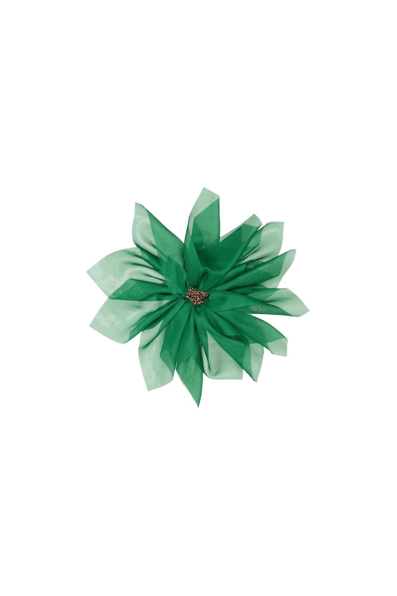NINFA GREEN BROOCH