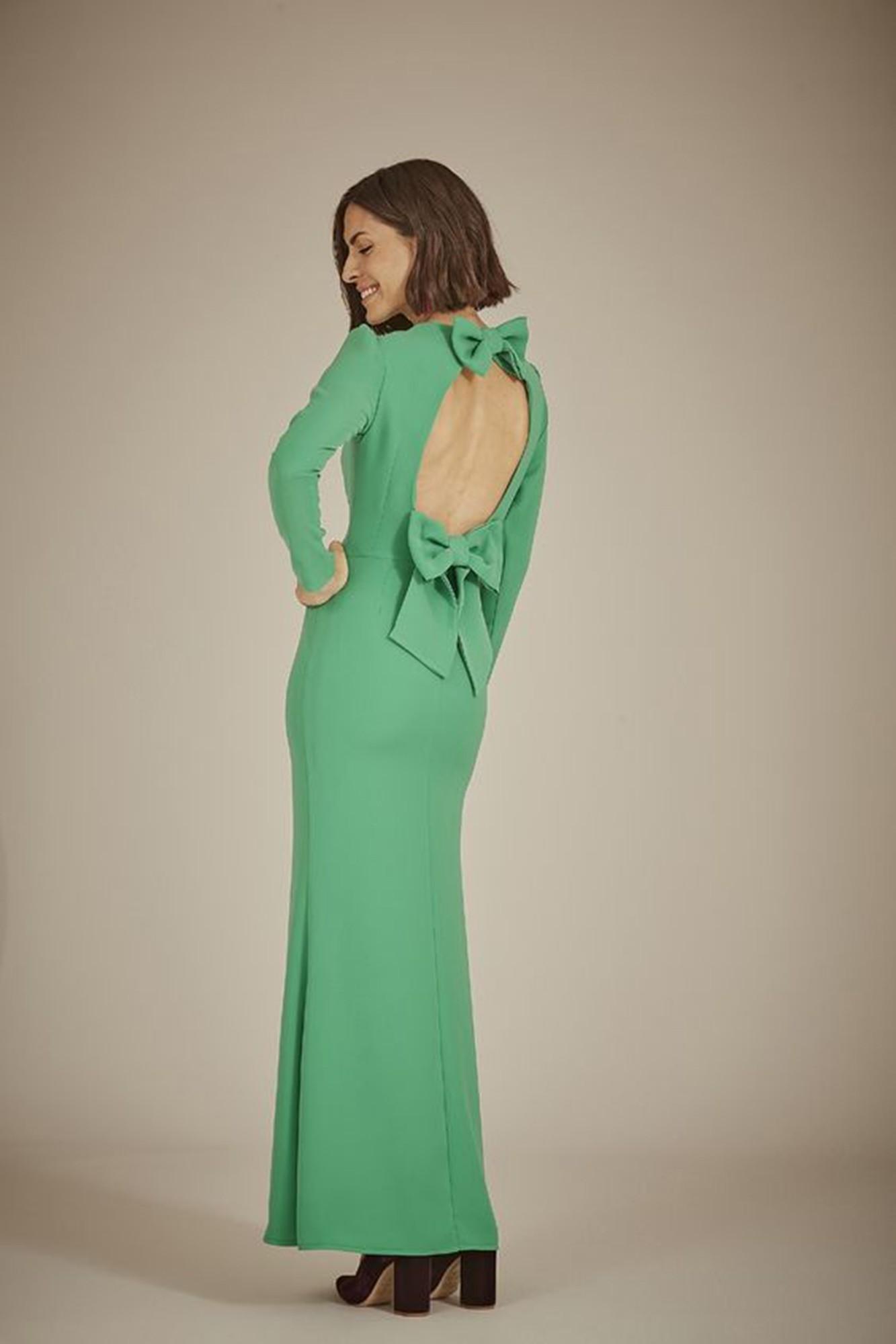 TANA GREEN DRESS