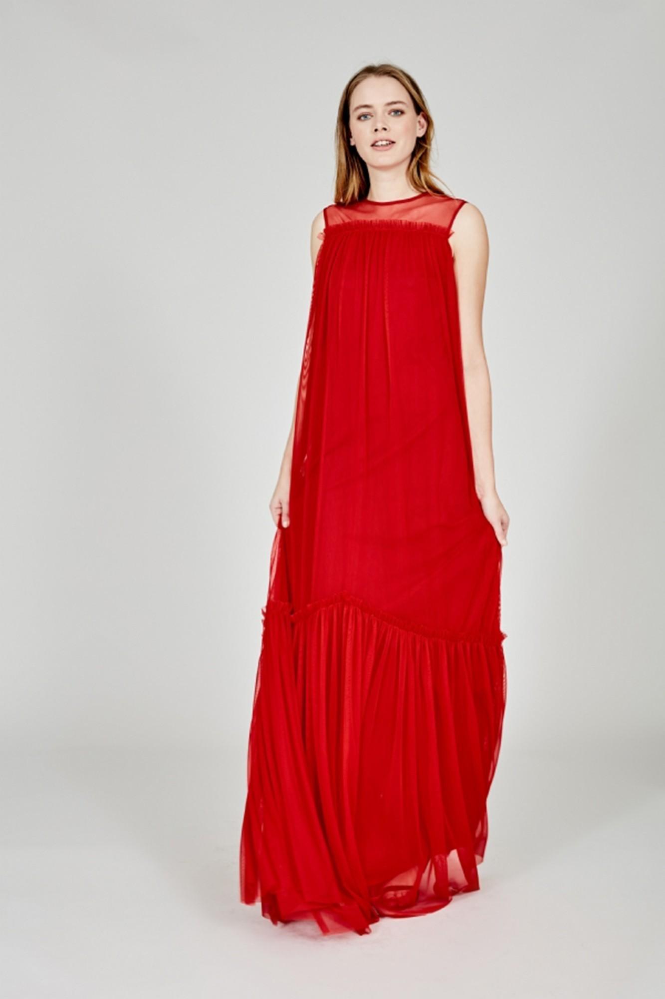 GARBI RED DRESS