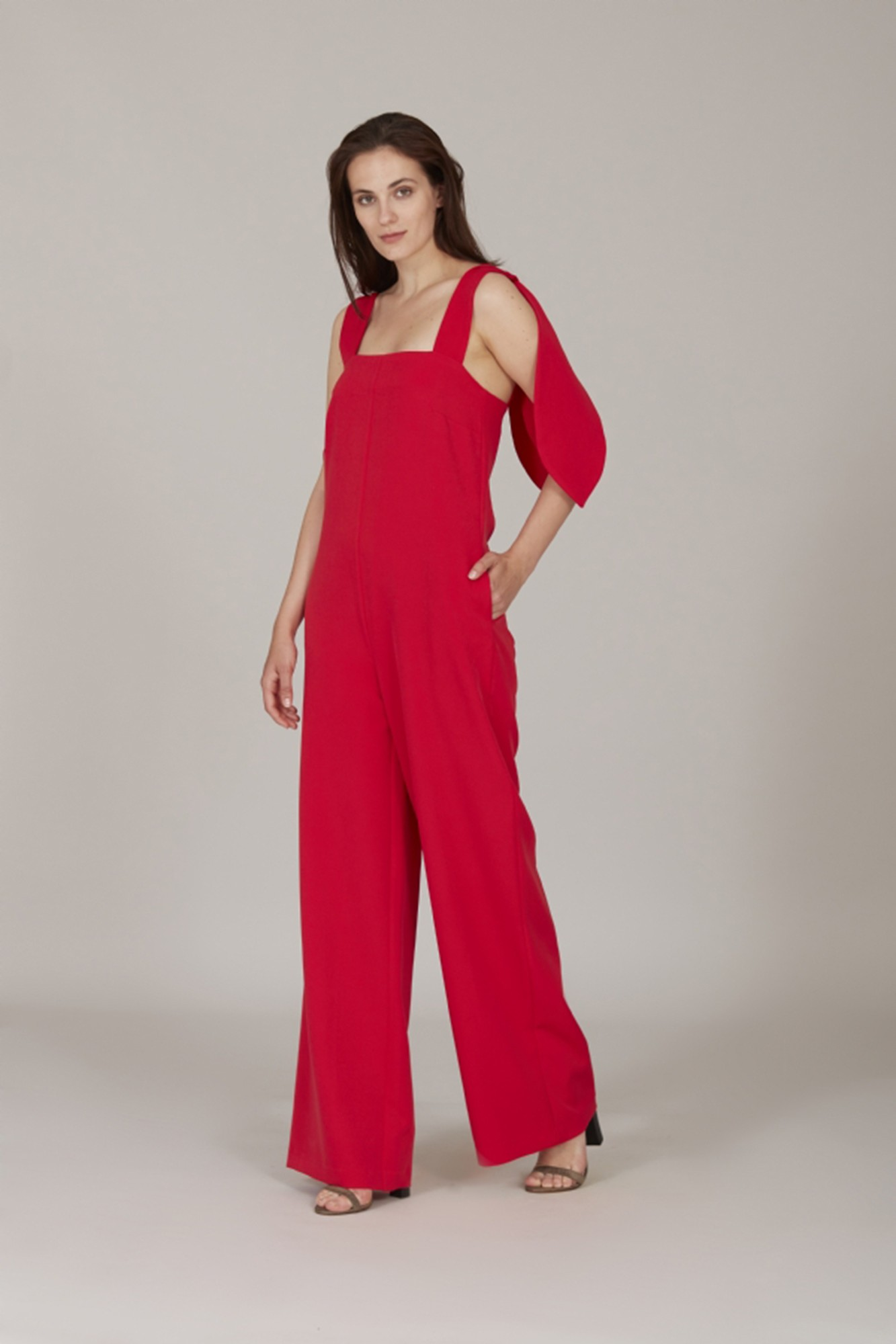 MERY RED JUMPSUIT