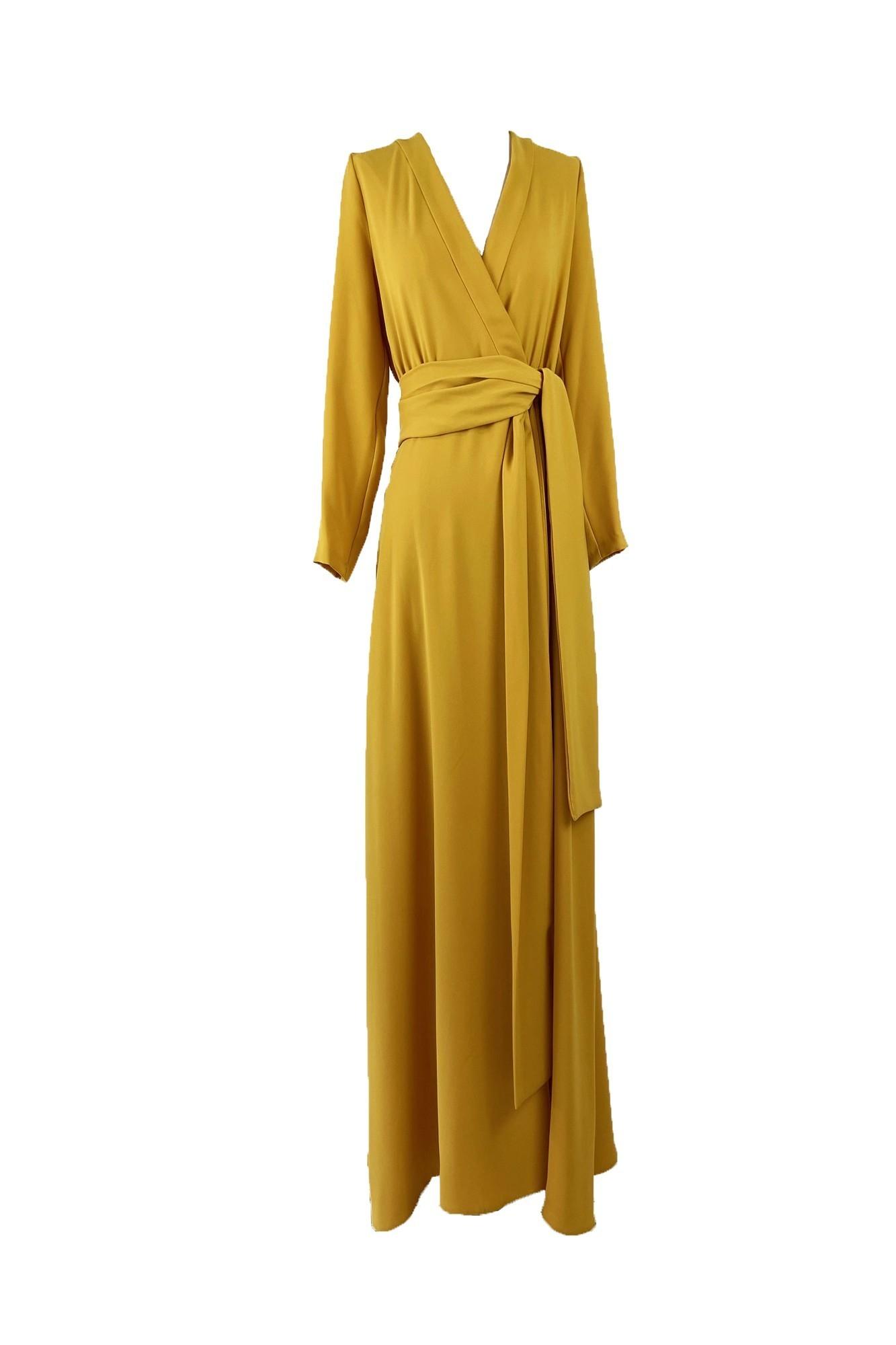 ALEJANDRA YELLOW DRESS
