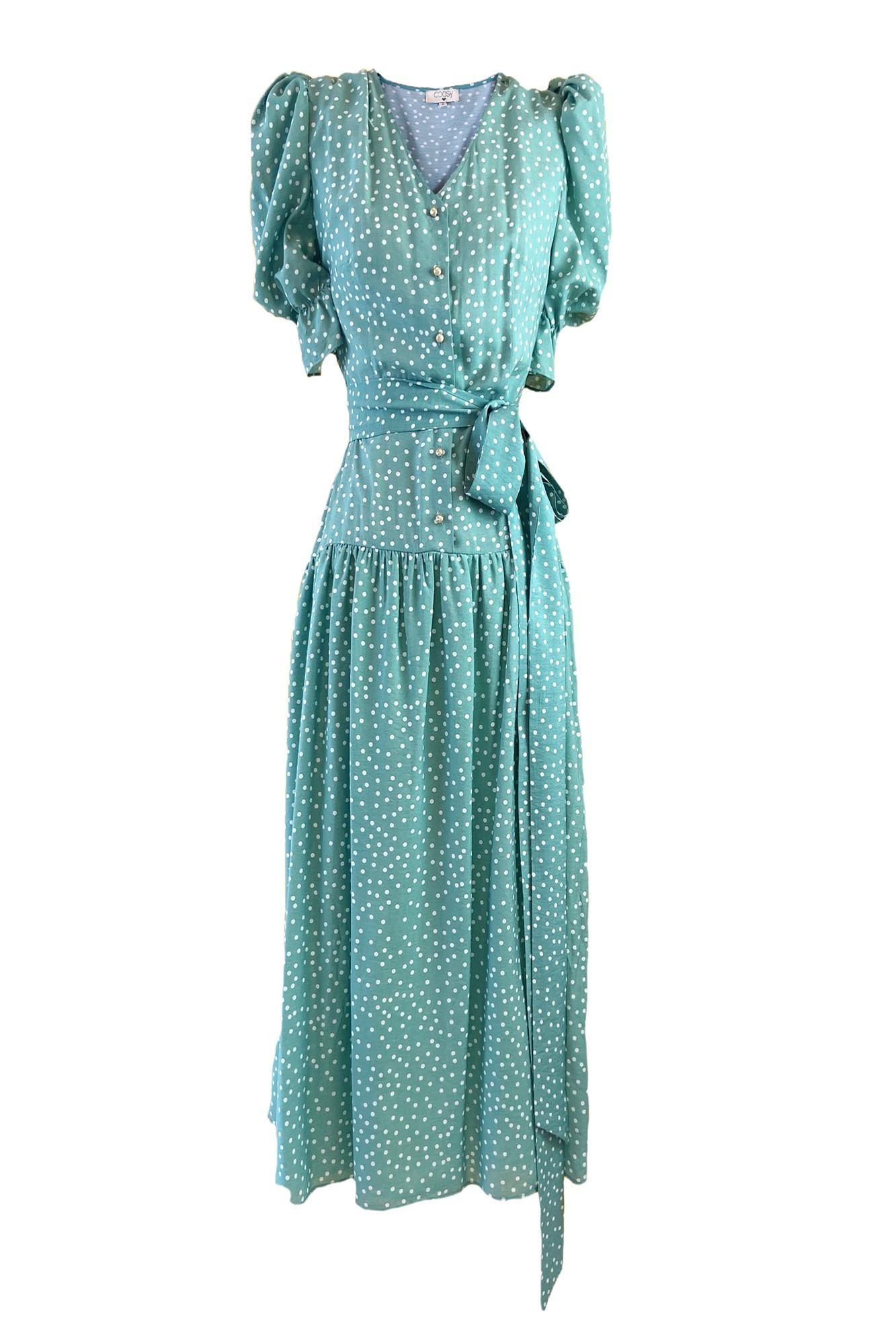 MARTHA GREEN DRESS