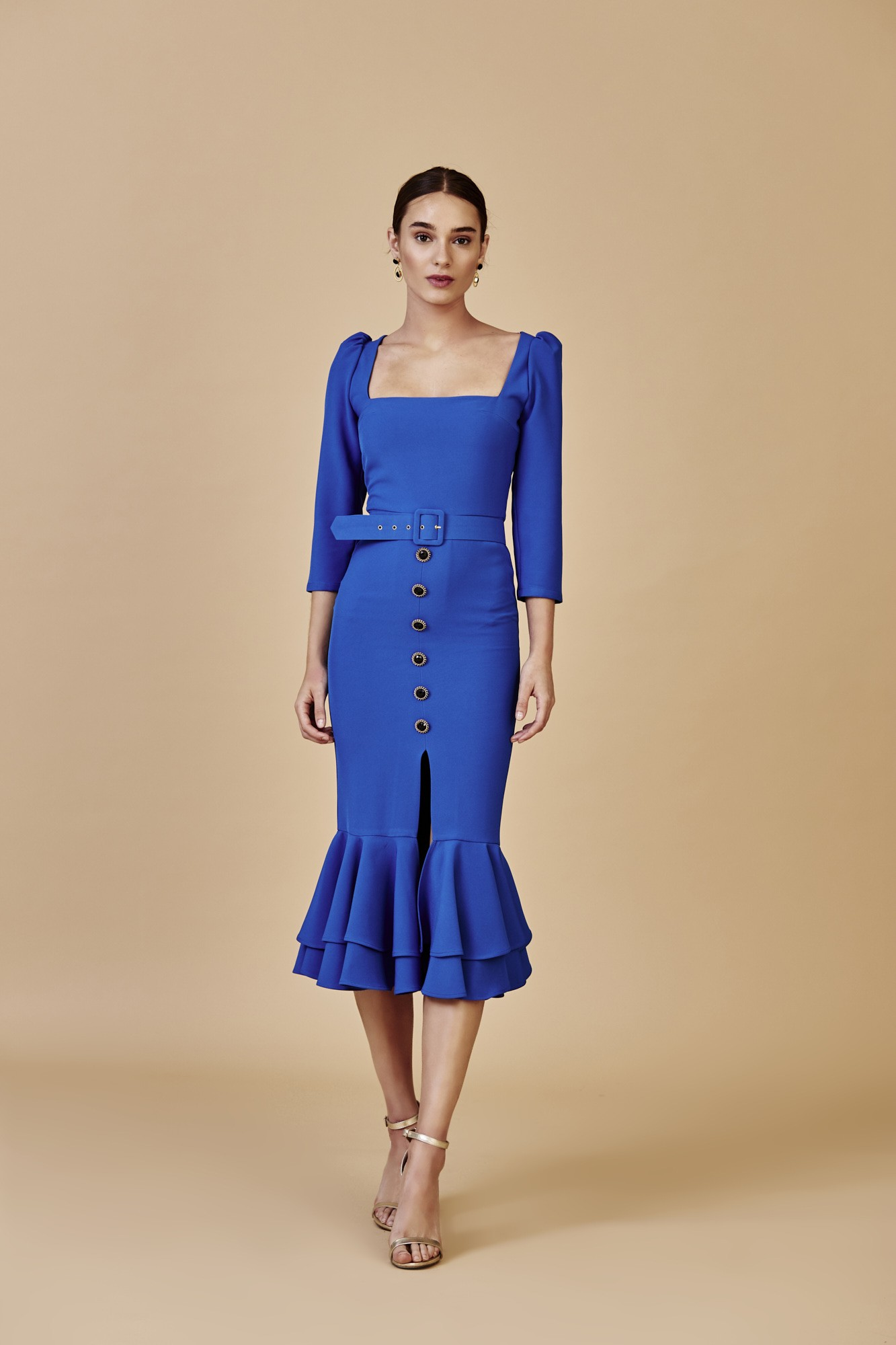LIDIA BLUE DRESS