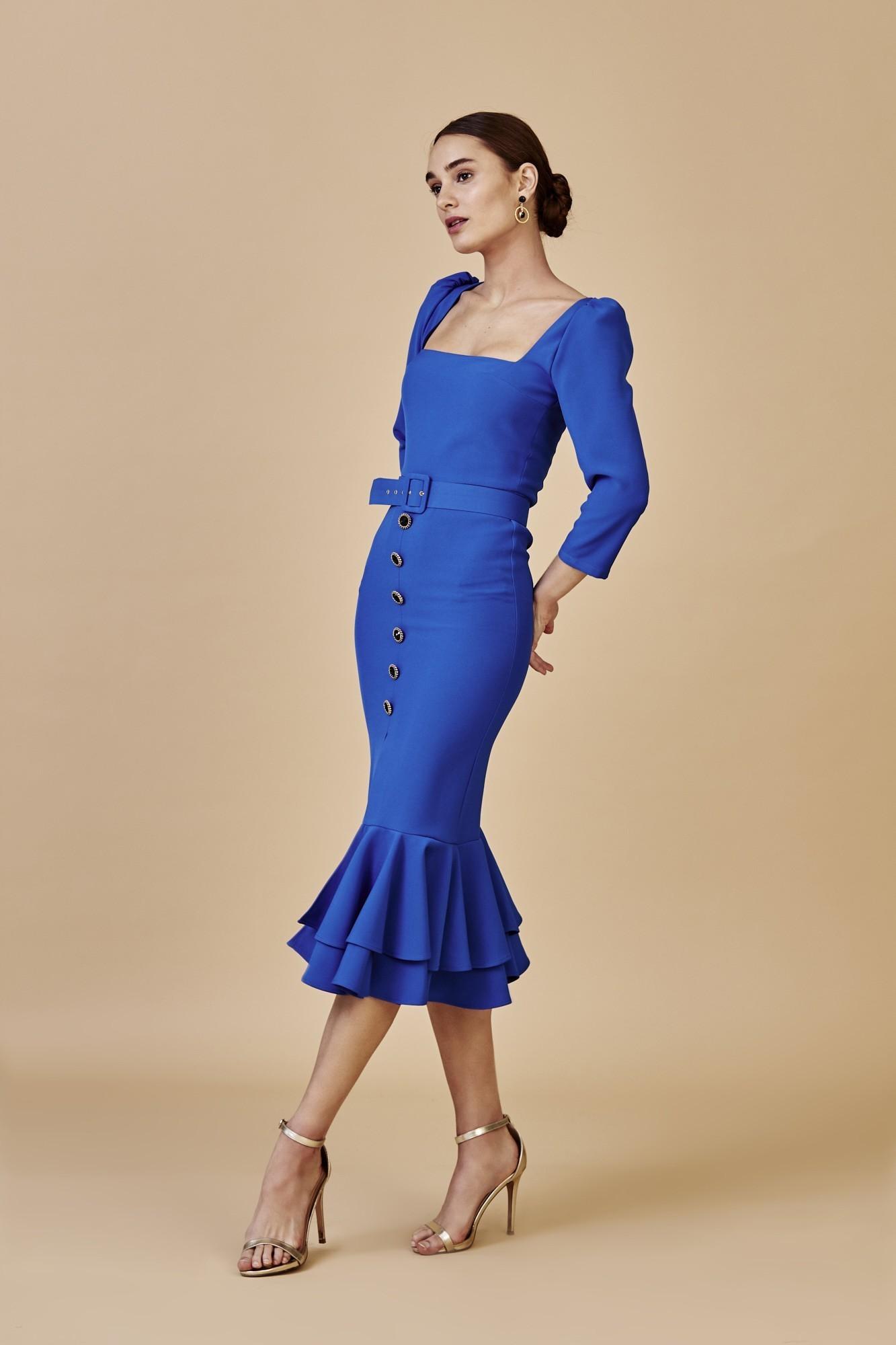 LIDIA BLUE DRESS