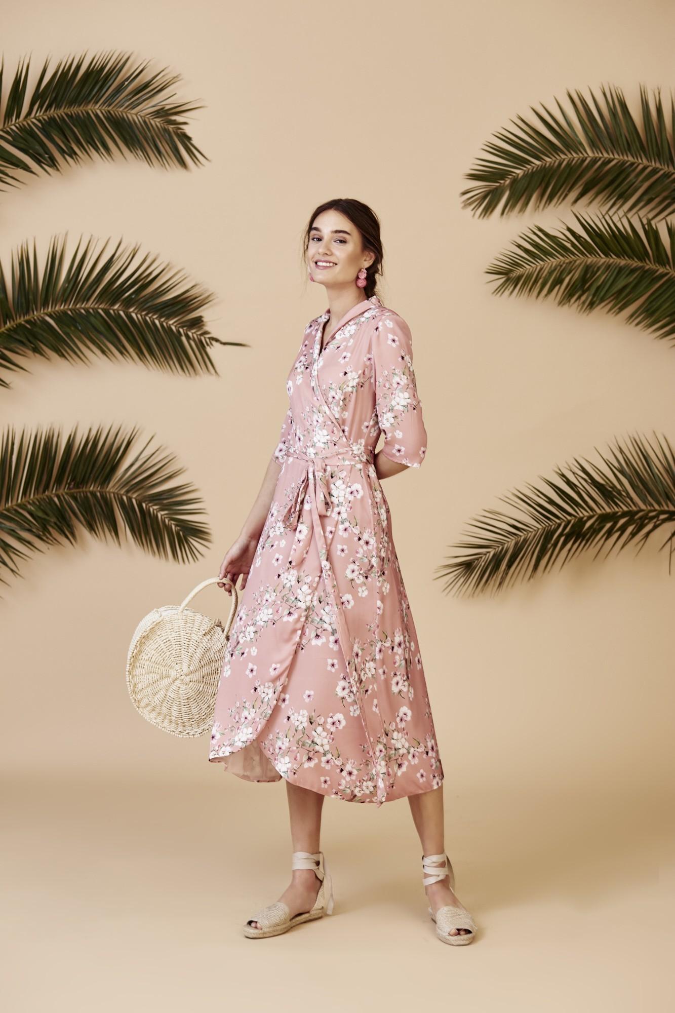 SILVANA PINK DRESS