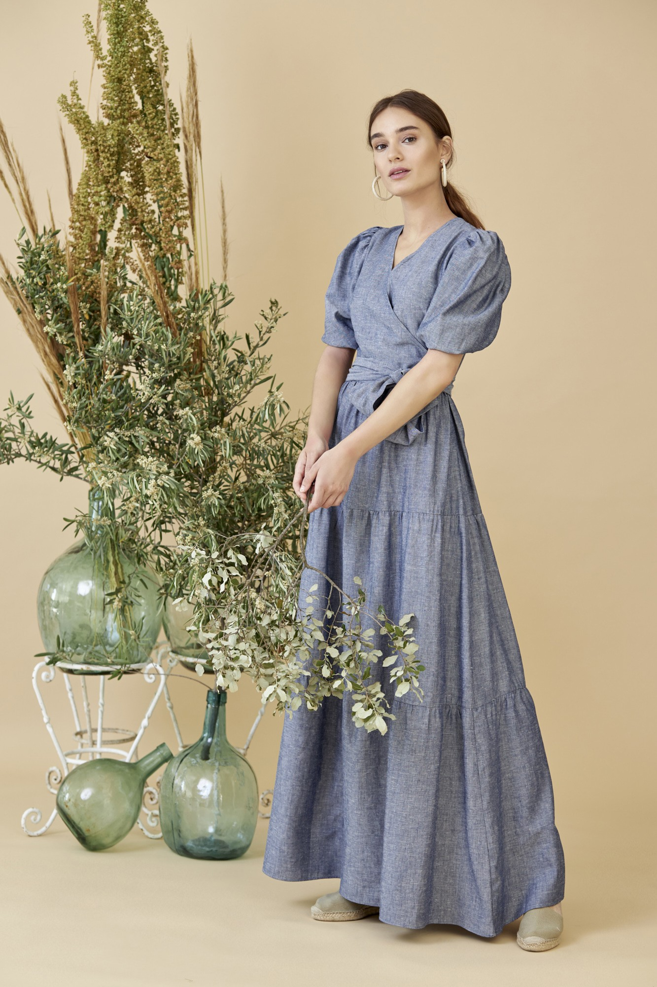 SISTER FADI DENIM DRESS