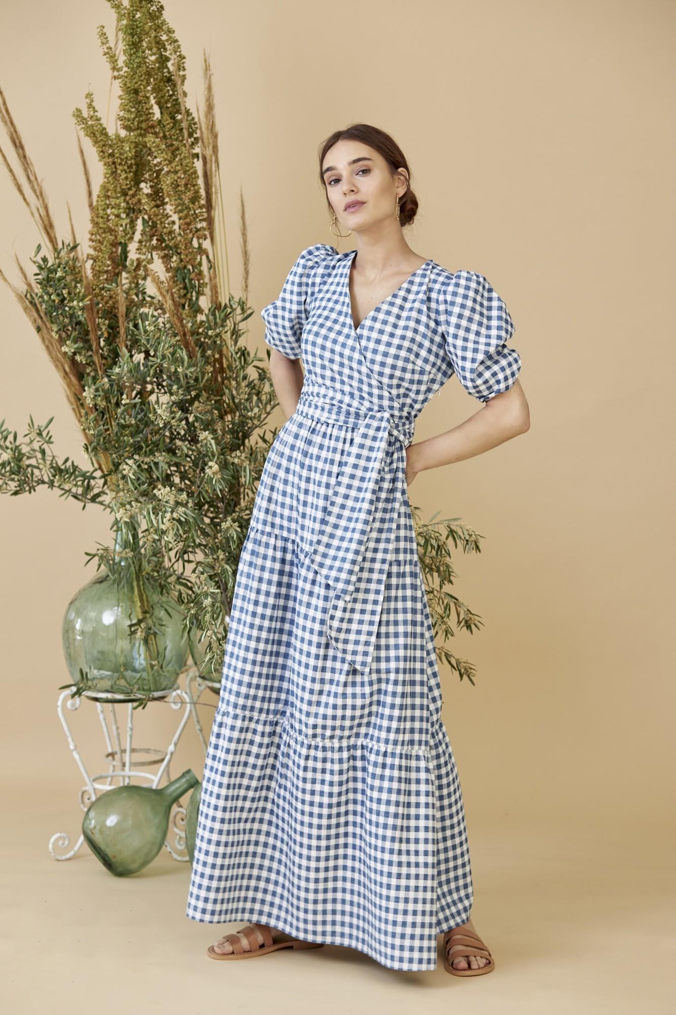 SISTER FADI BLUE DRESS