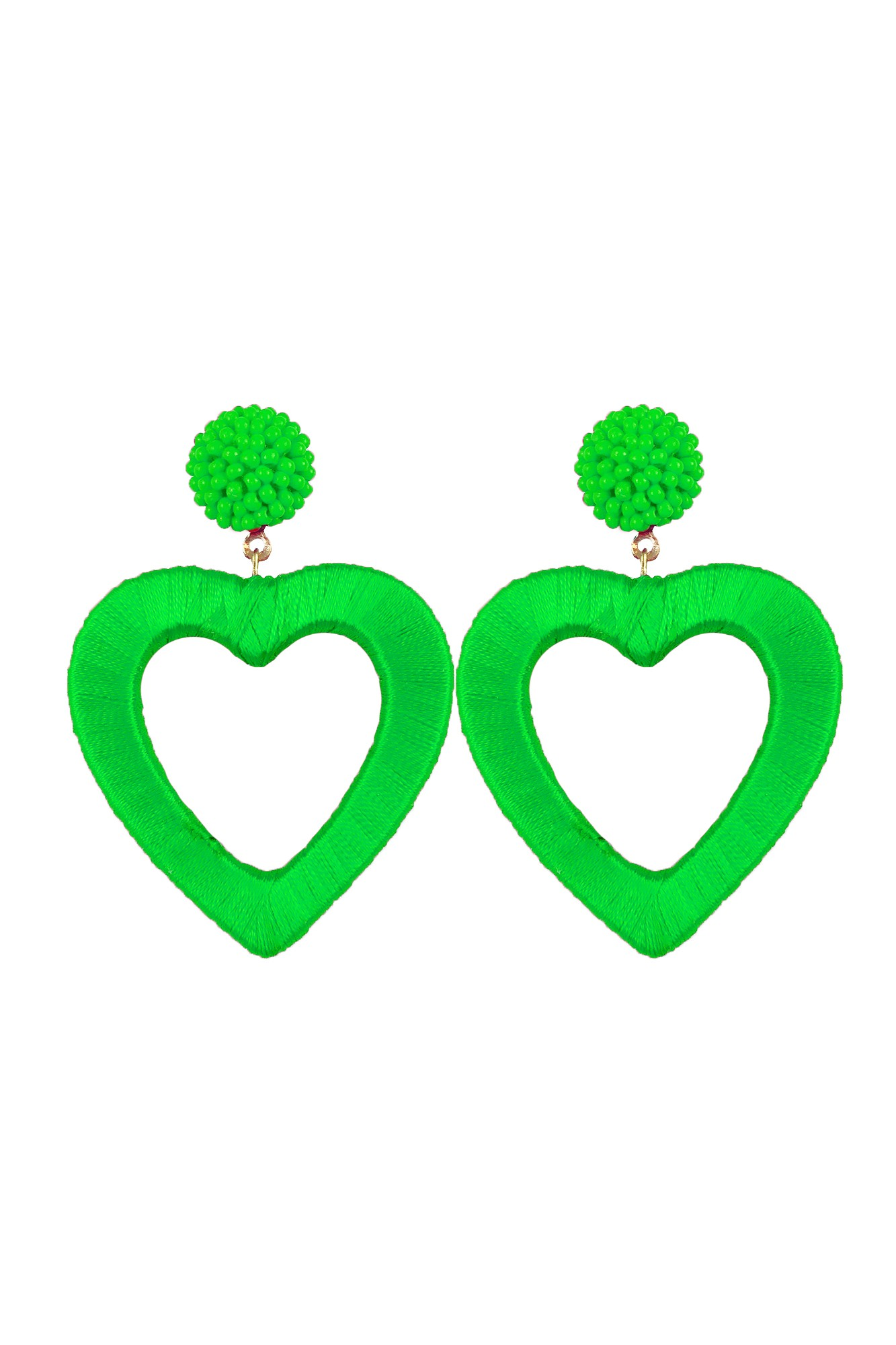 SERCE GREEN EARRINGS