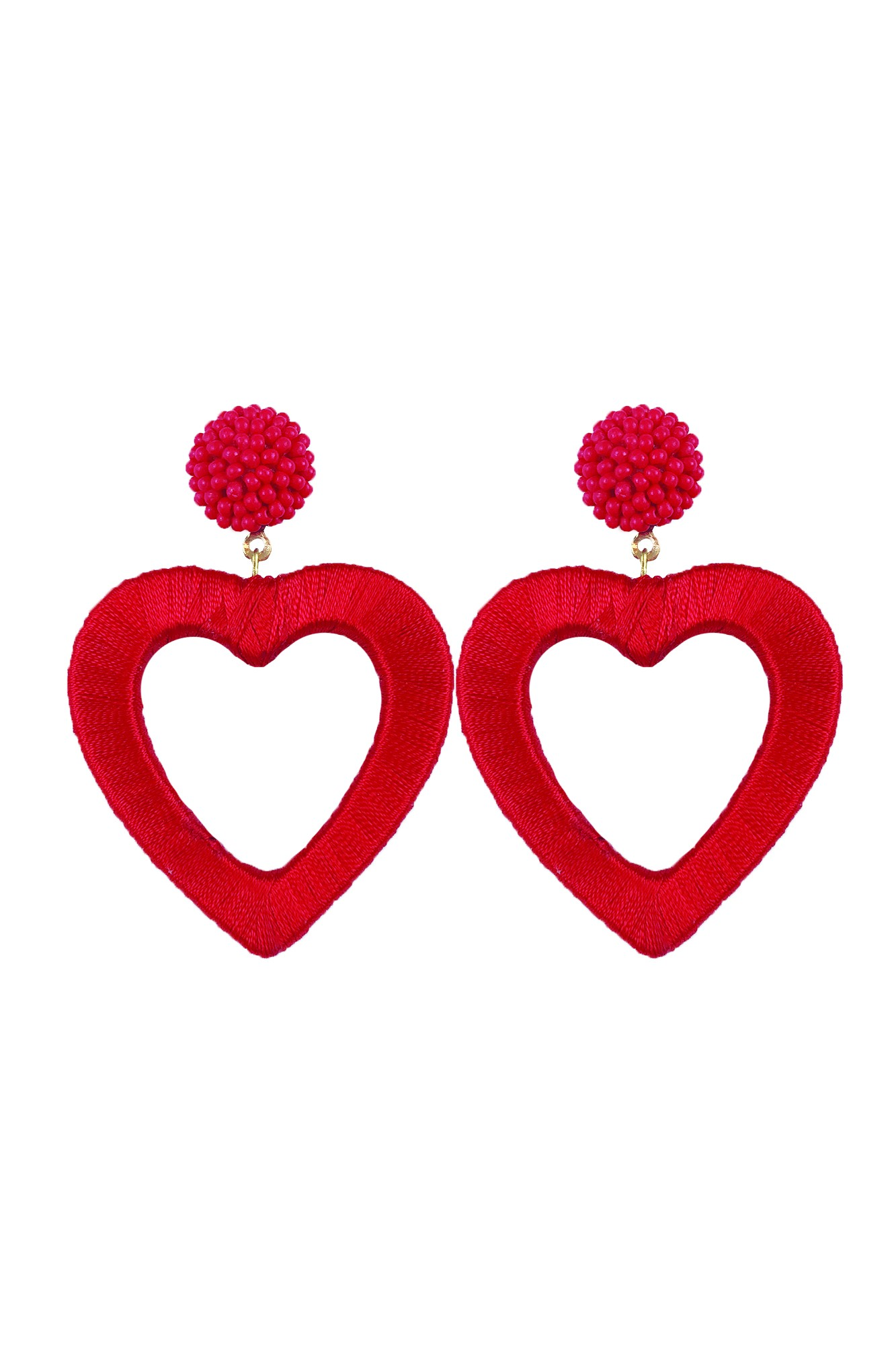 SERCE RED EARRINGS