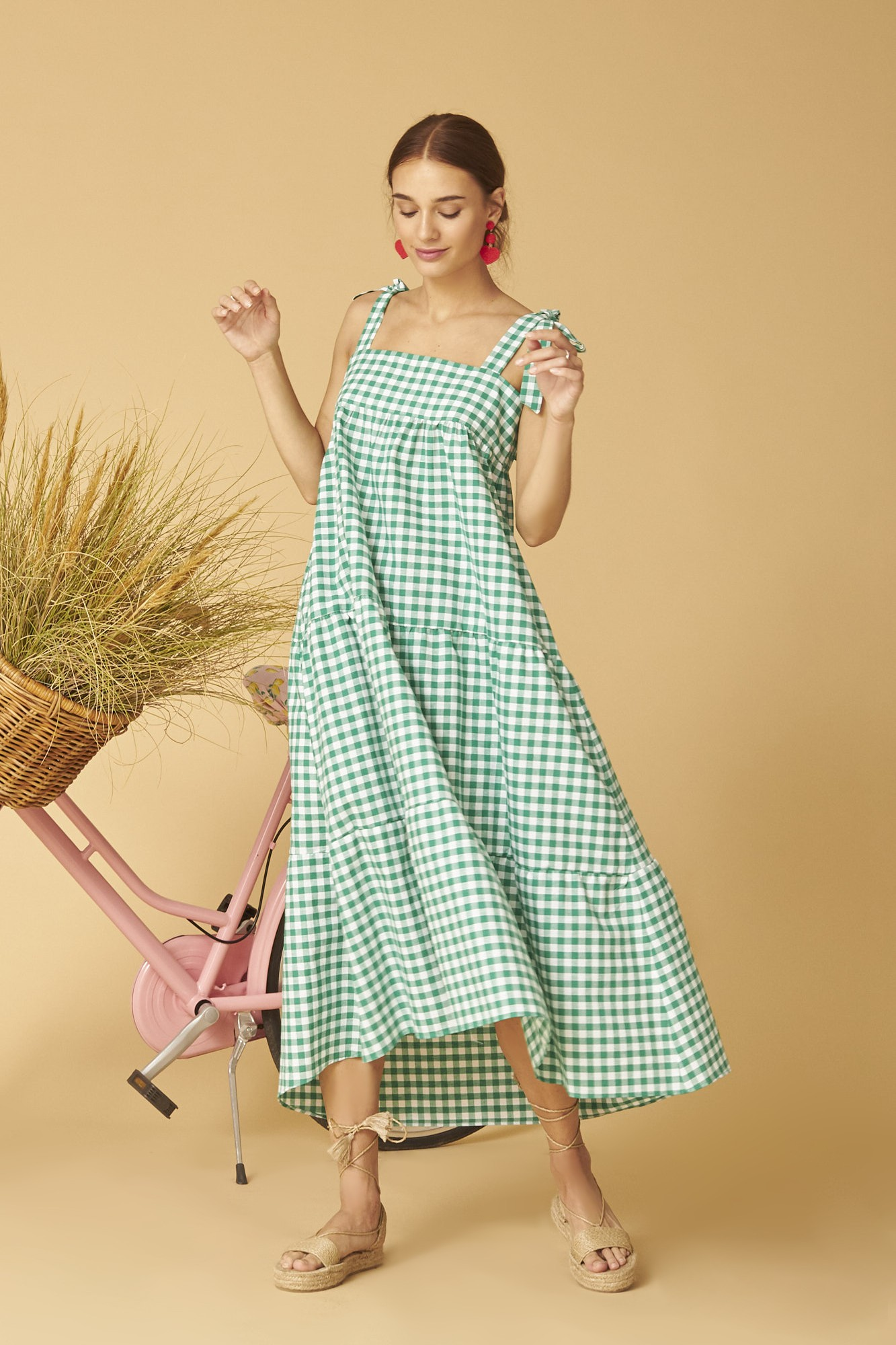 CARMIÑA VICHY DRESS