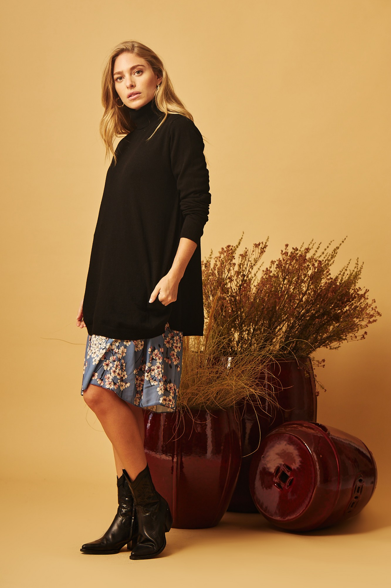 BLACK CIES SWEATER