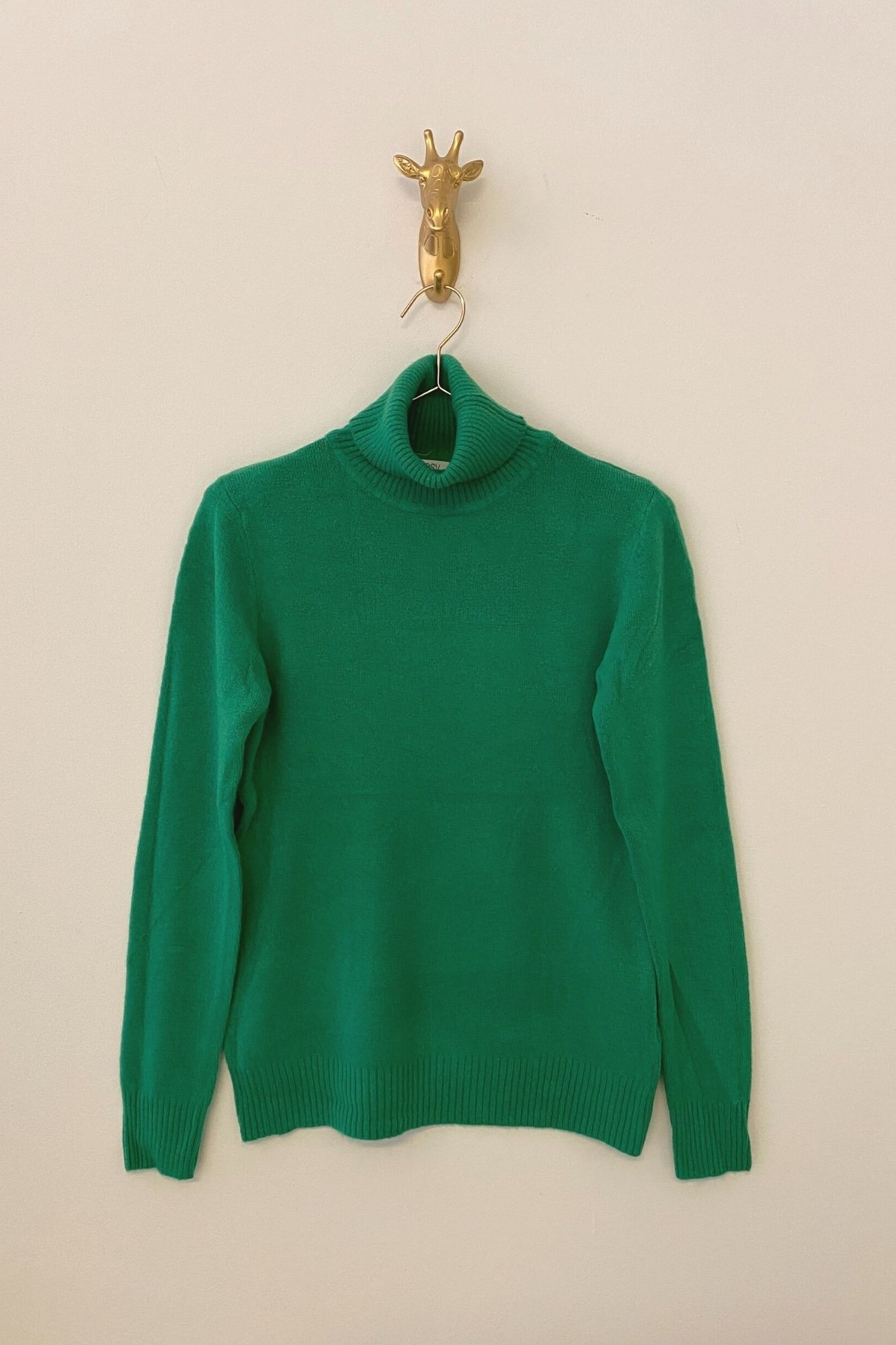 GREEN ÑORA JUMPER
