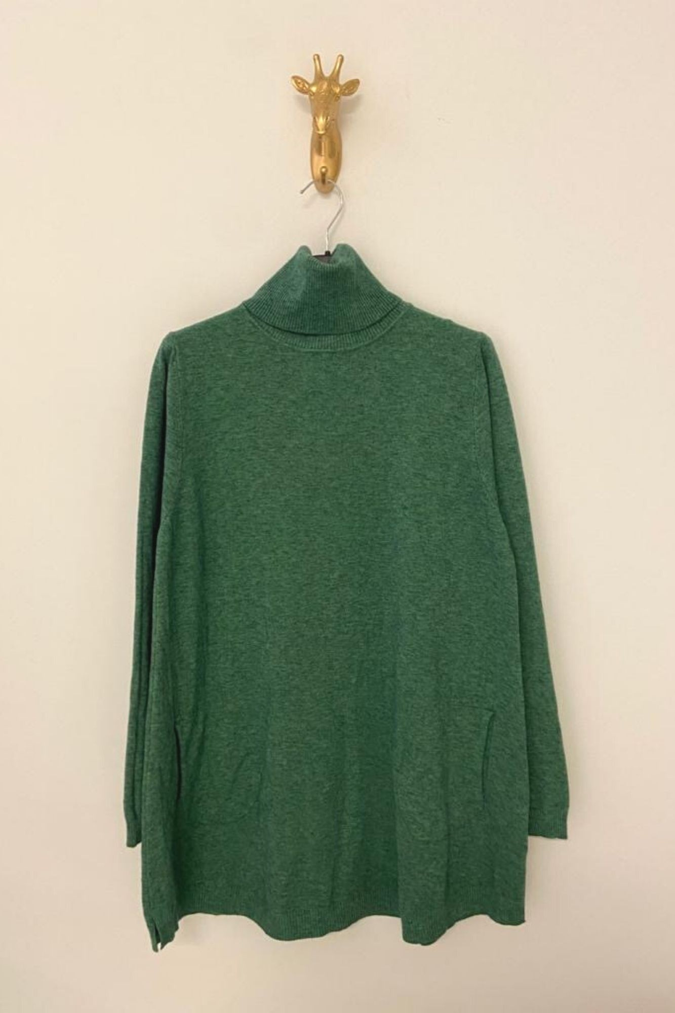 GREEN CIES JUMPER